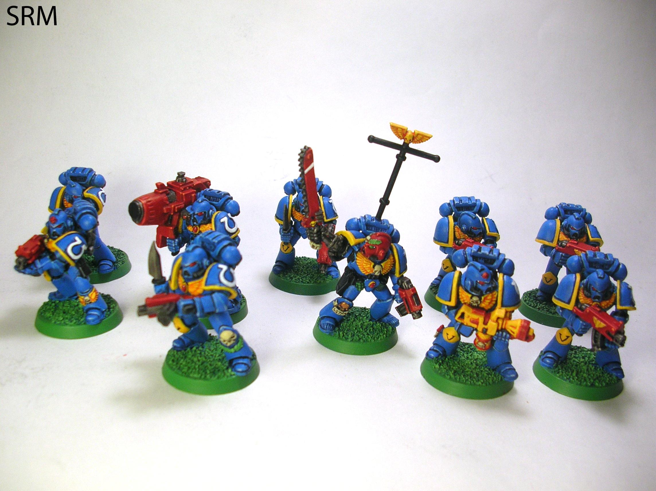 2nd Edition, Brother Srm, Old School, Space Marines, Ultramarines, Warhammer 40,000