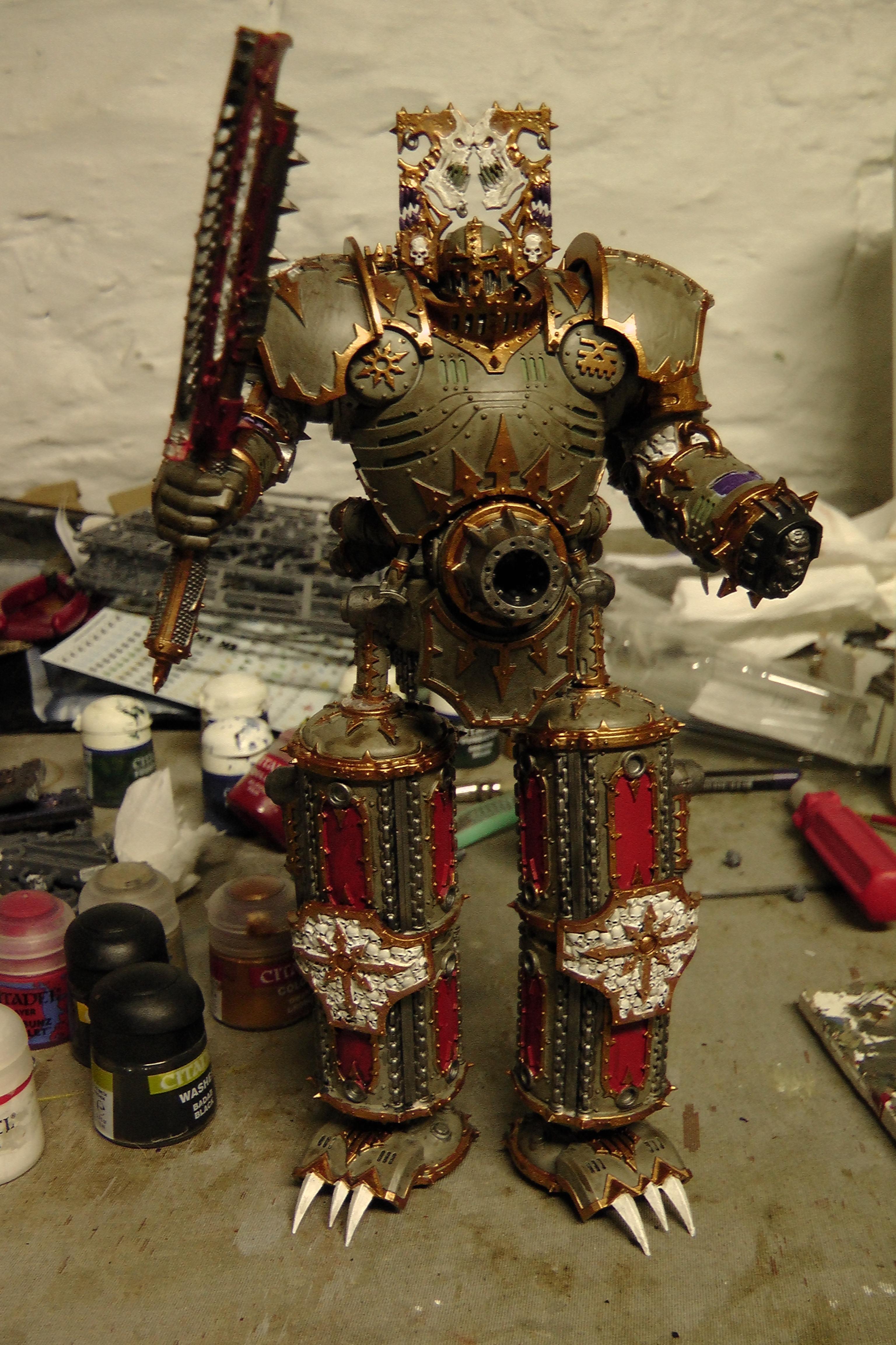 Khorne Lord of Skullz Finished