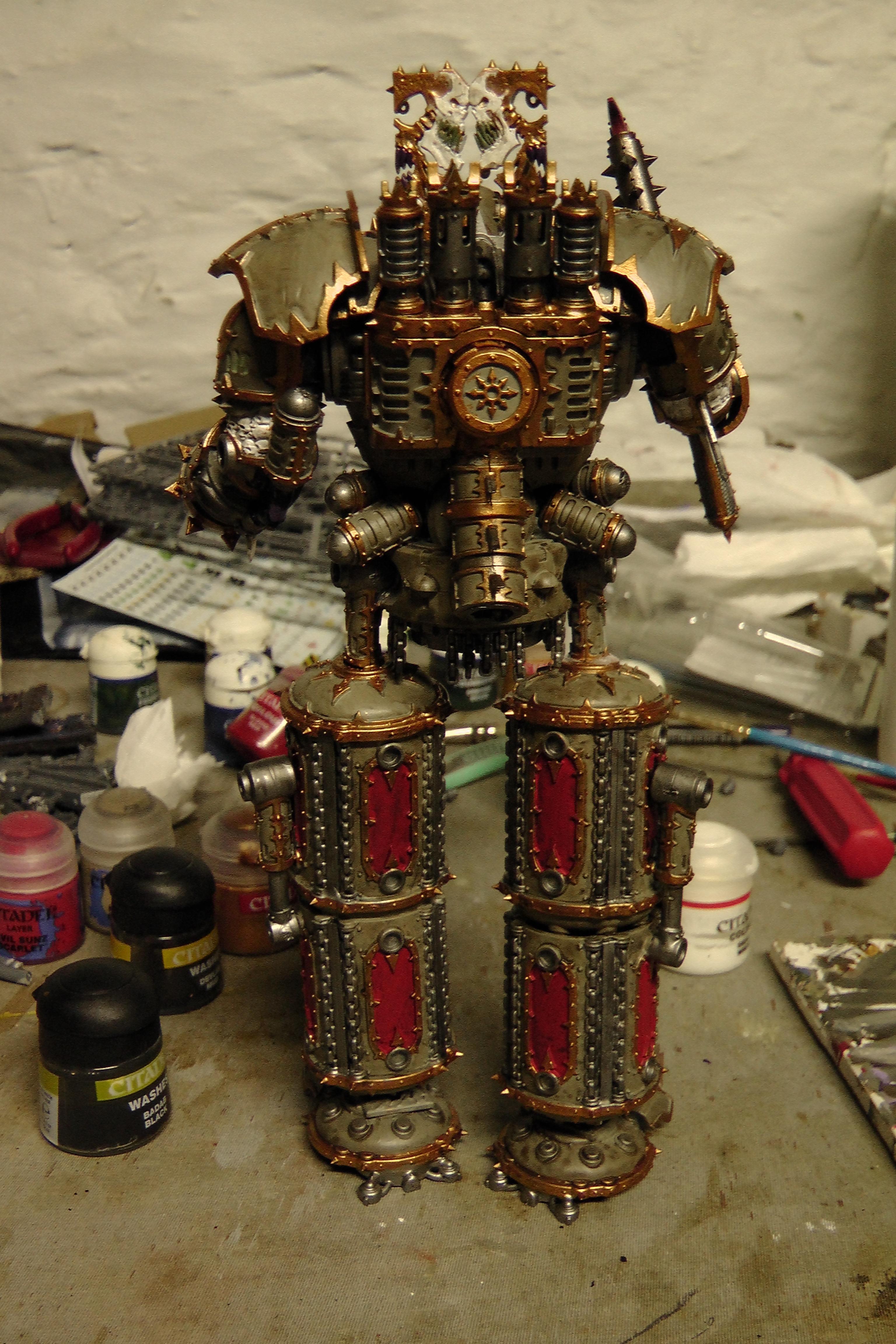 Khorne Lord of skullz Back finished
