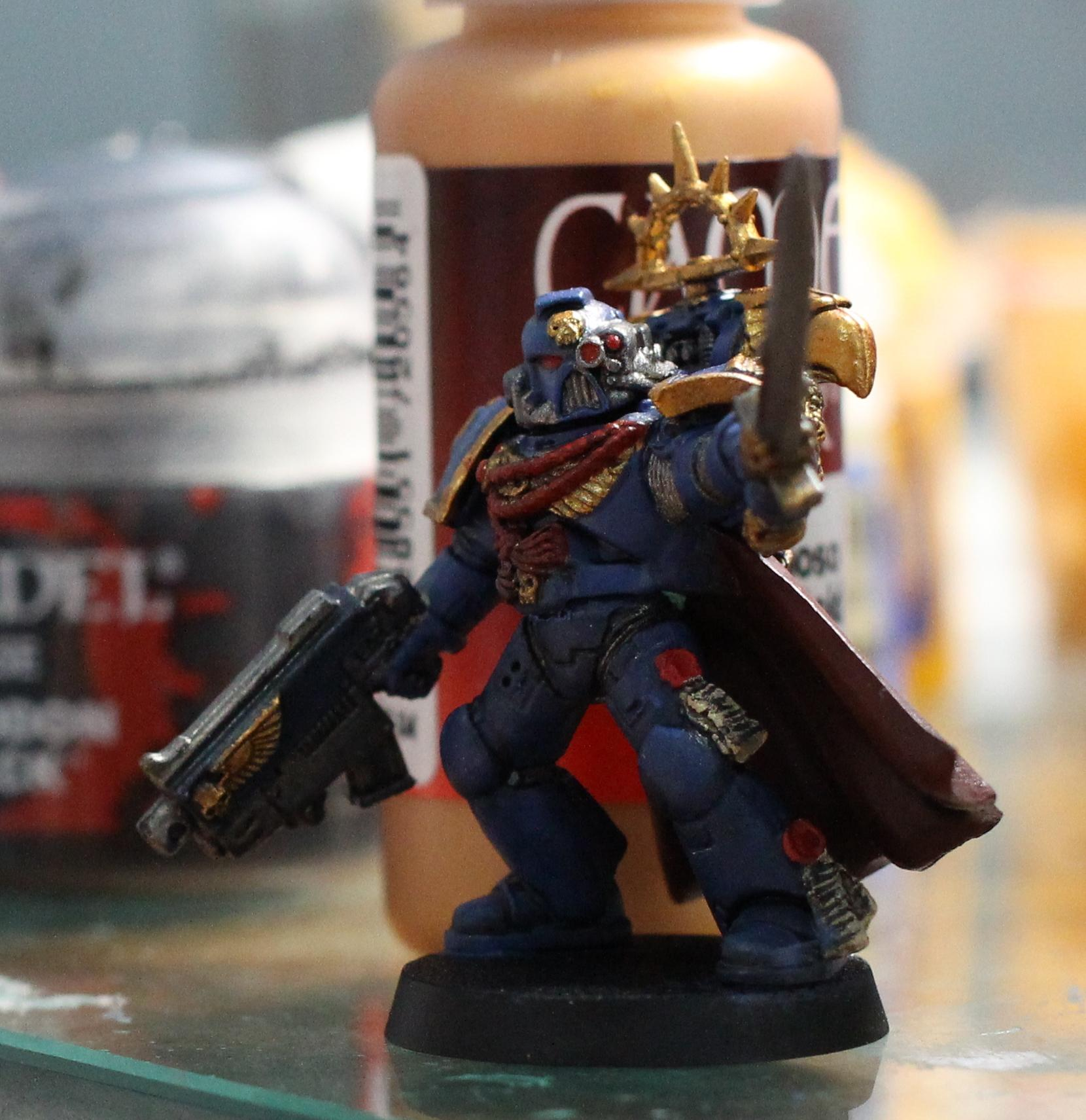 Captain, Chapter Master, Space Marines, Ultramarines
