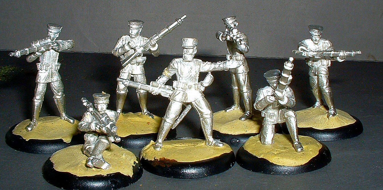 Dystopian Legions, Prussian, Spartan Games