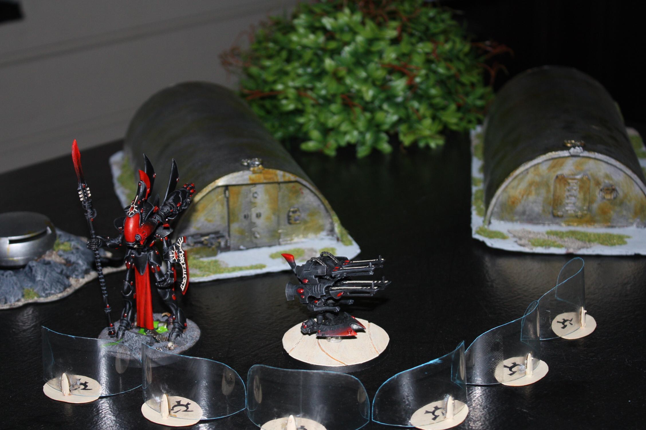 Aegis Defence Line, Eldar, Quad Cannon, Warhammer 40,000