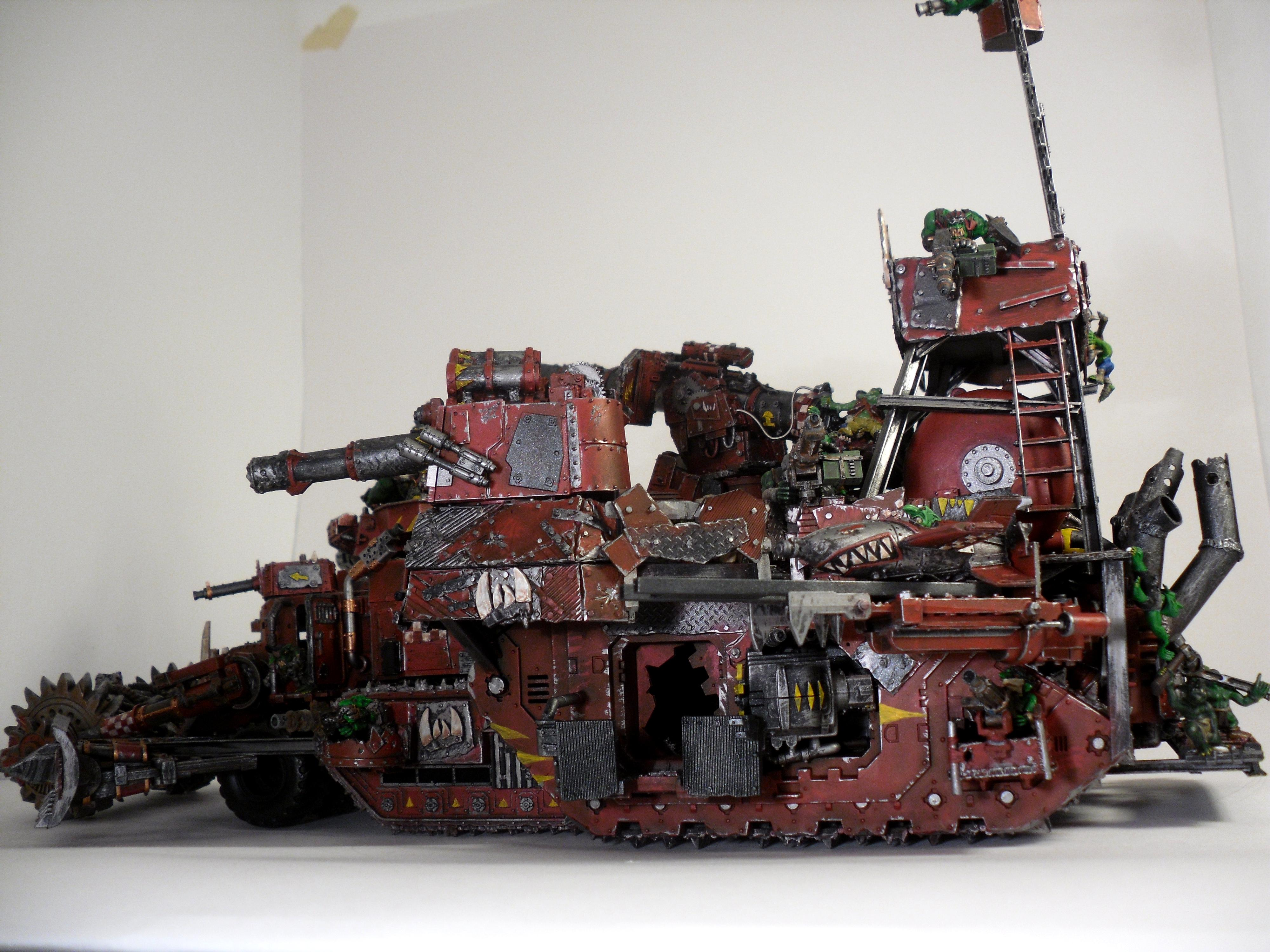 Battle Fortress, Battlewagon, Custom, Orks, Super-heavy