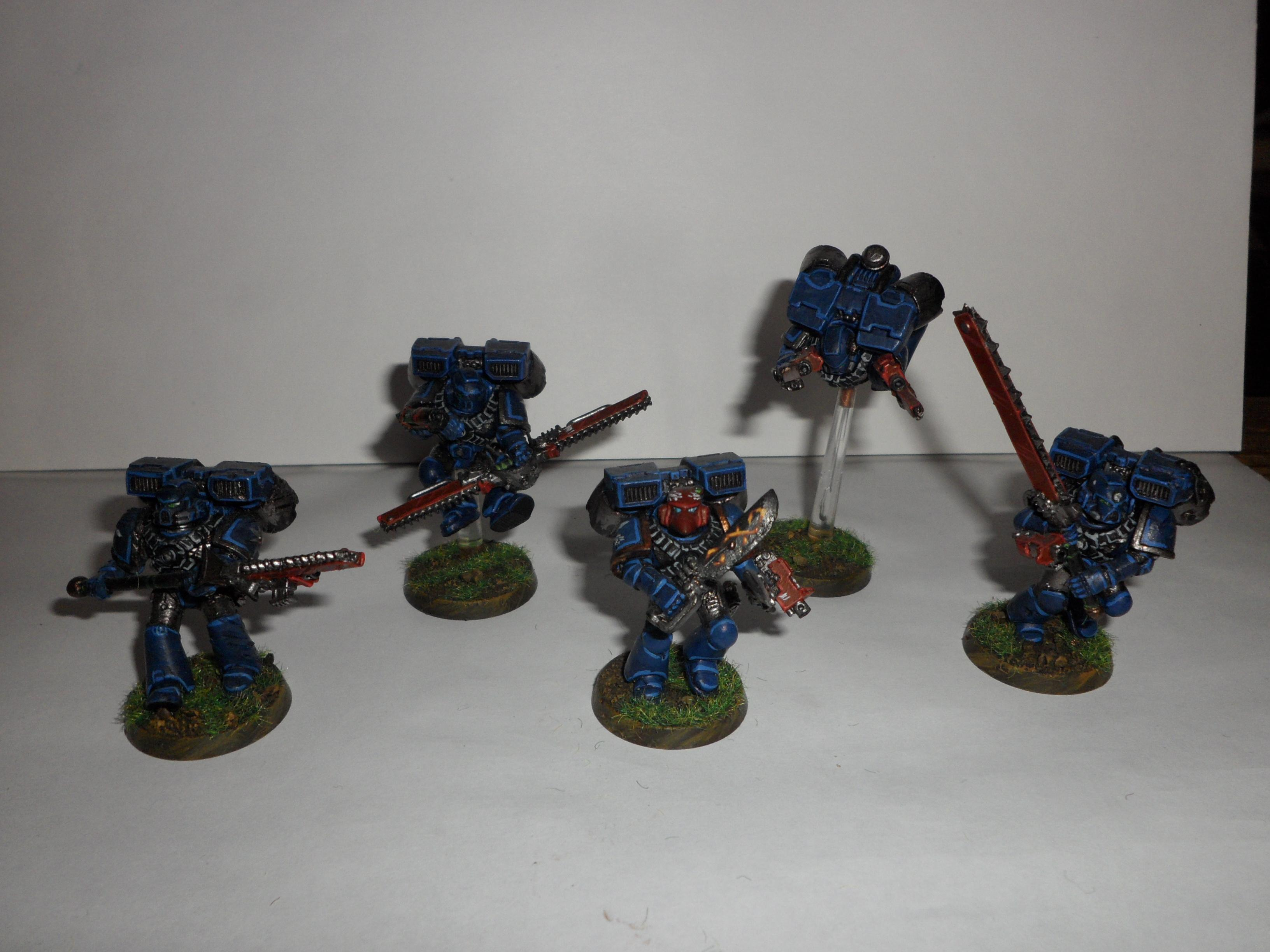 Assault Squad, Space Marines, Sturmtrupp