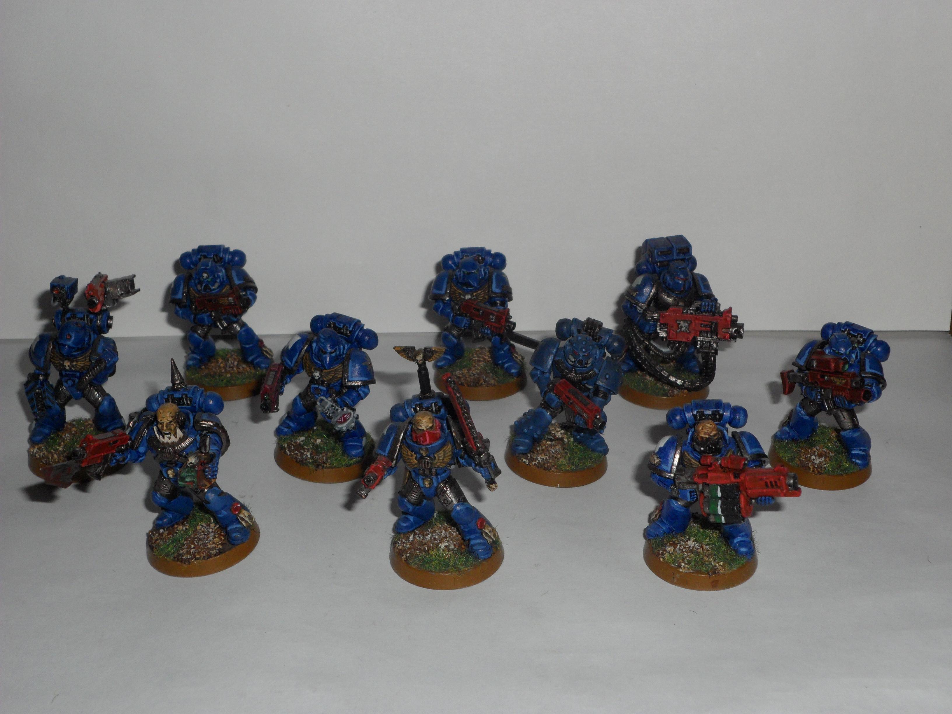 Space Marines, Tactical Squad, Taktischer Trupp