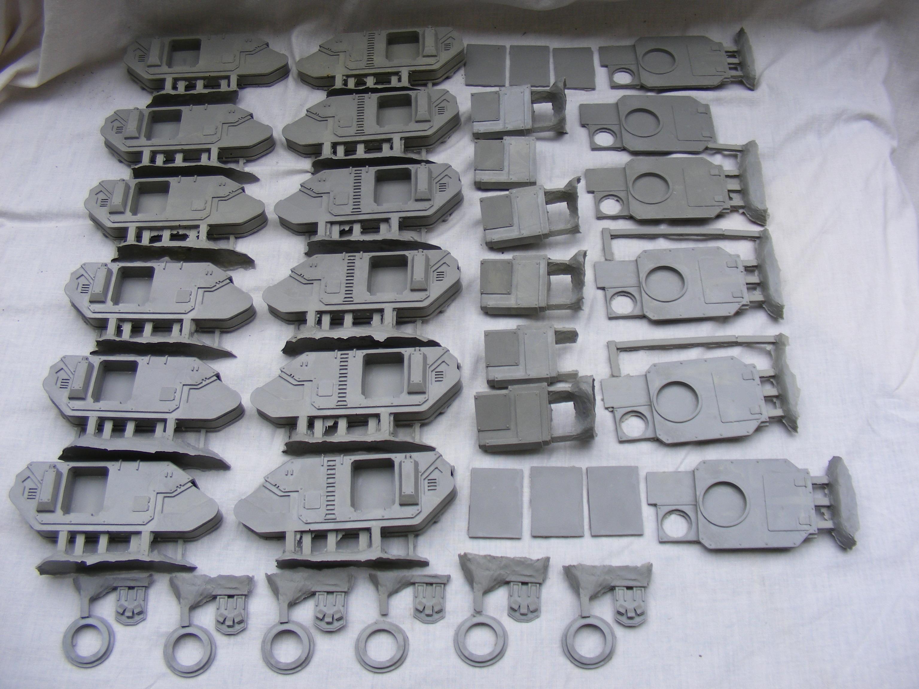 many casts