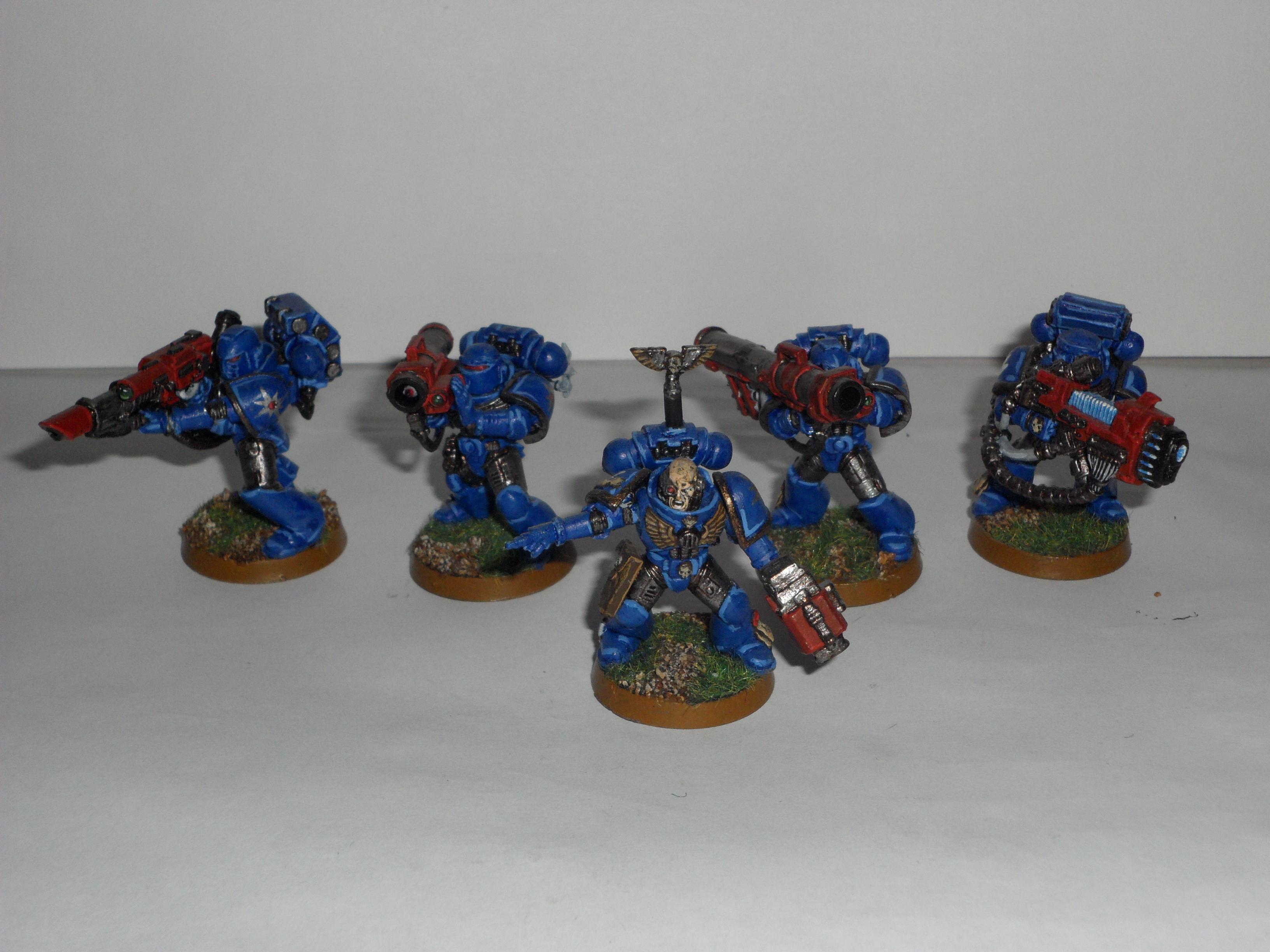 Devastator, Devastator Squad, Devastators, Space Marines