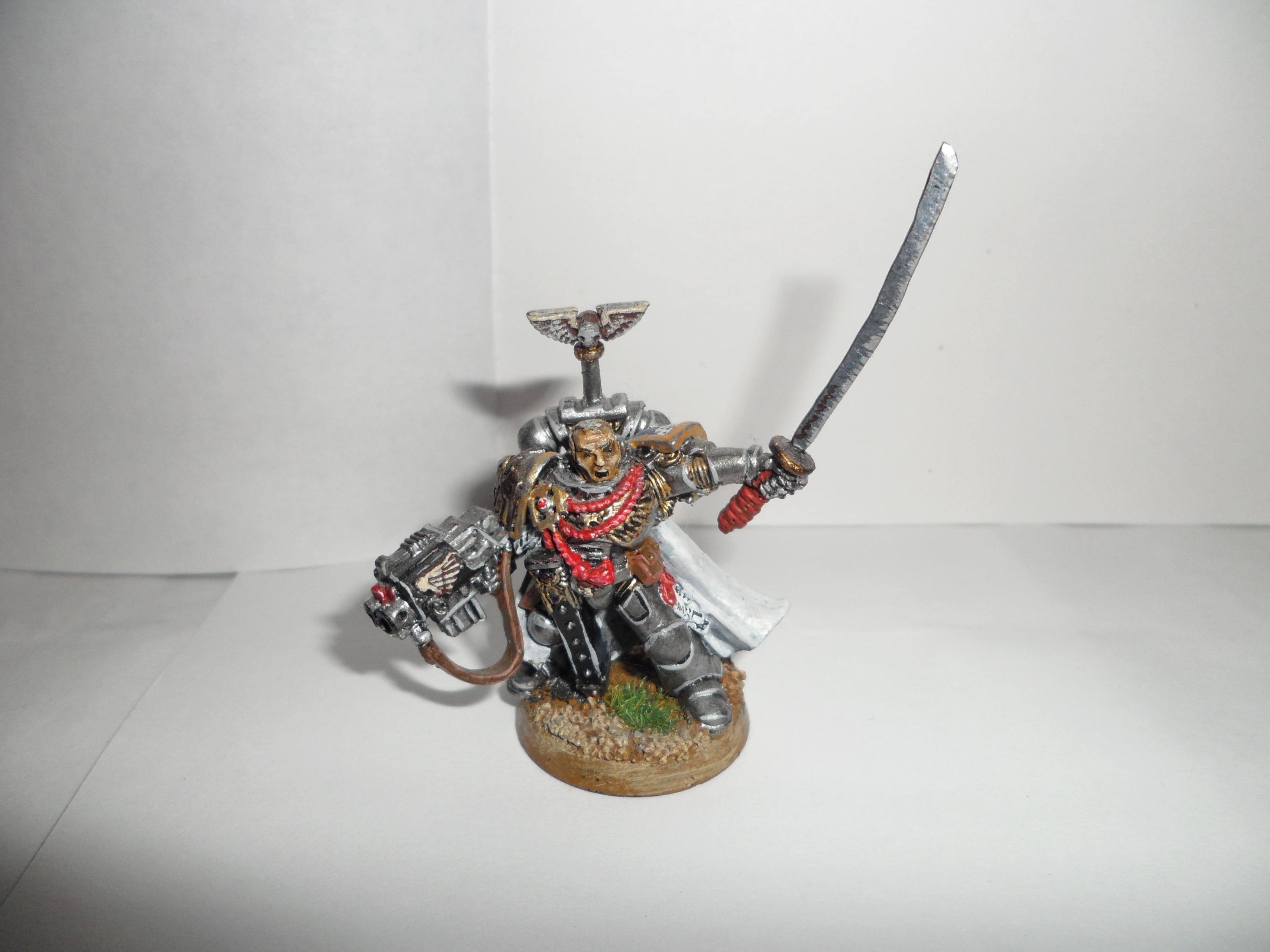 Chaptain, Space Marines