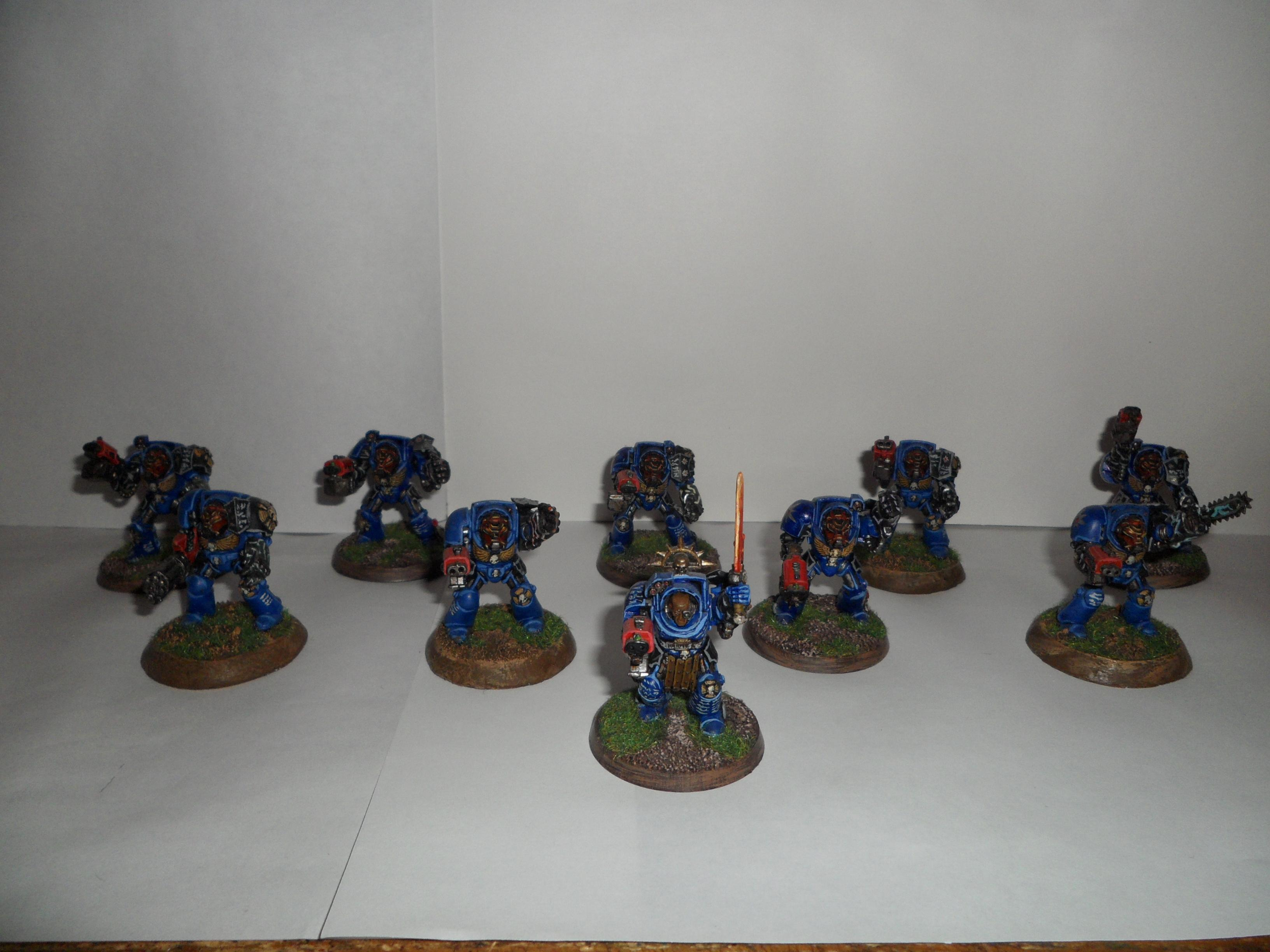 Space Marines, Terminator Armor