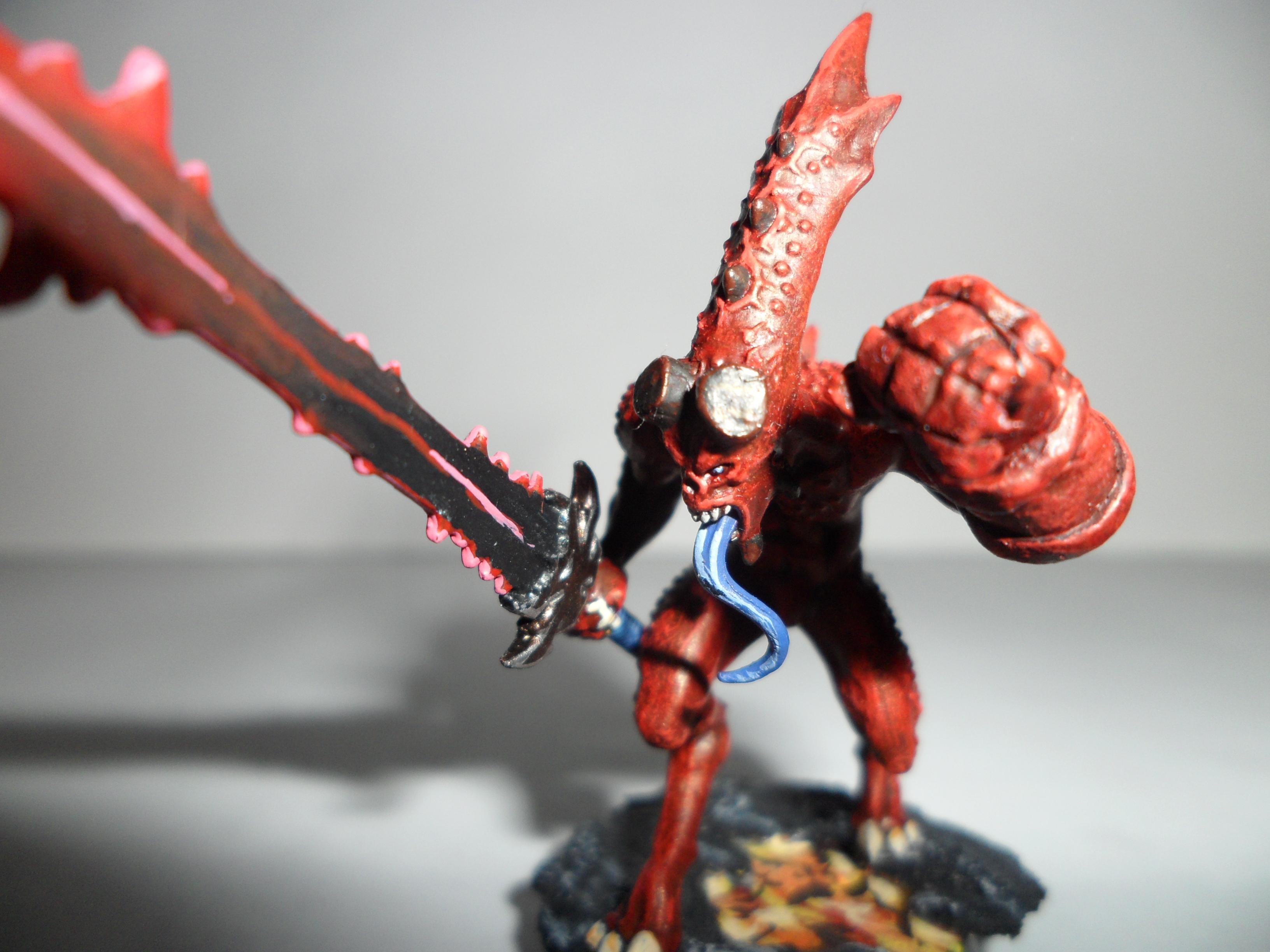 Bloodletters, Dämon, Dämonen, Daemons, Hellboy, Khorne, Zerfleischer