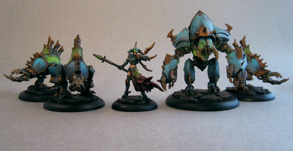 Cryx, Deathripper, Defiler, Deneghra, Object Source Lighting, Rusty, Slayer, Warmachine