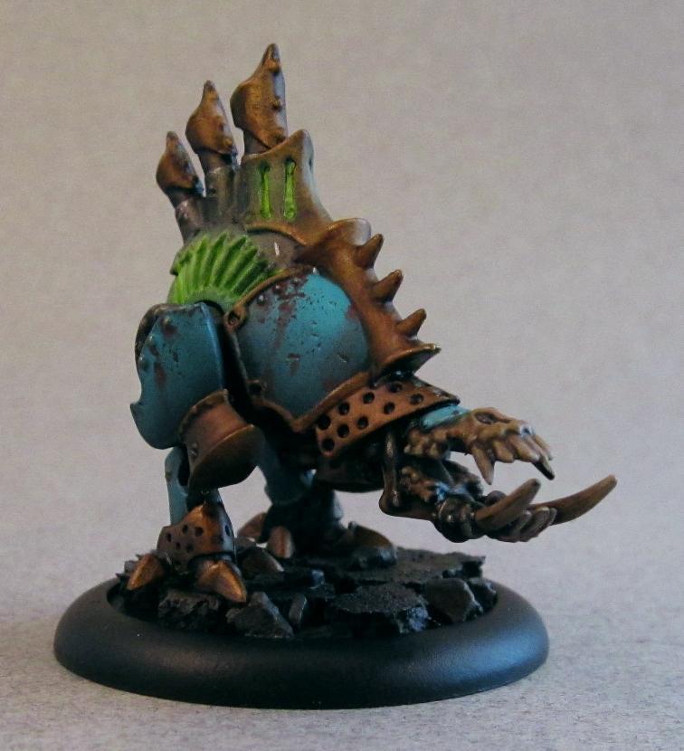 Bonejack, Cryx, Deathripper, Object Source Lighting, Rust, Warmachine