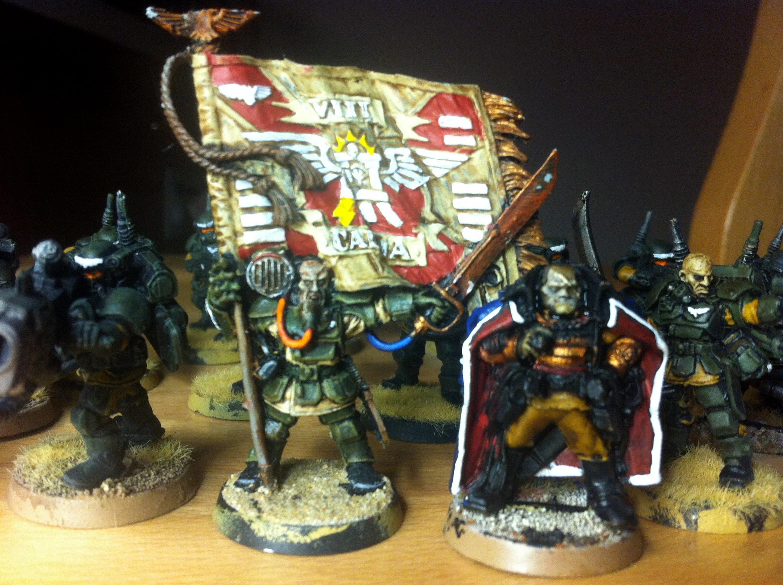 Apocalypse, Baneblade, Creed, Kasrikin Magnitzed Magnets Shadows Word Imperial Guard Ig, Kell