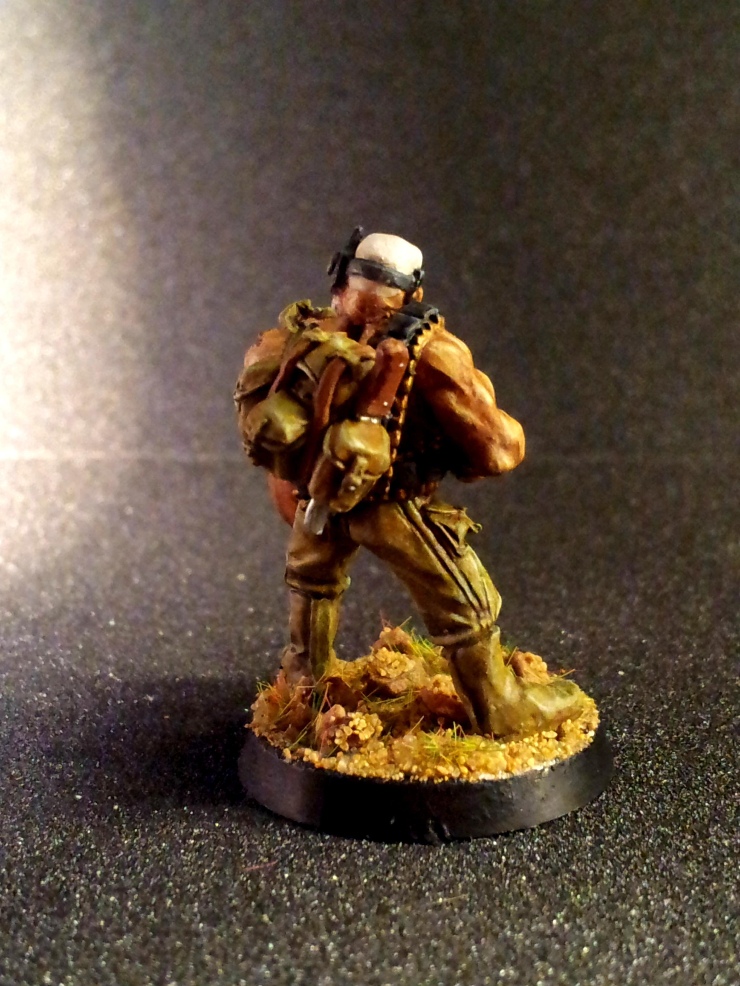 Camouflage, Guard, Harker, Heavy Bolter