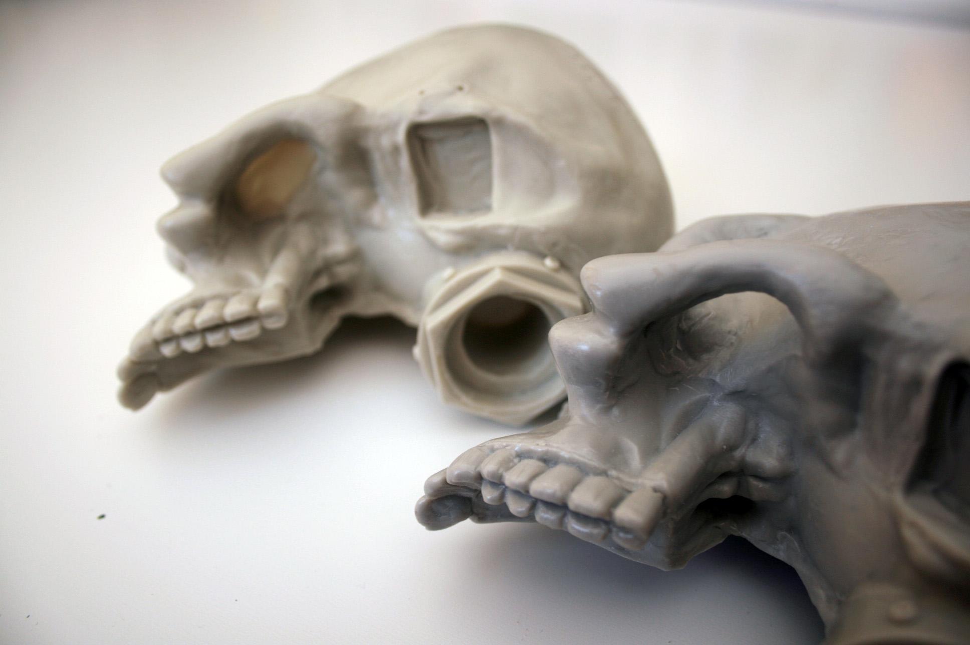 Companion skull x2