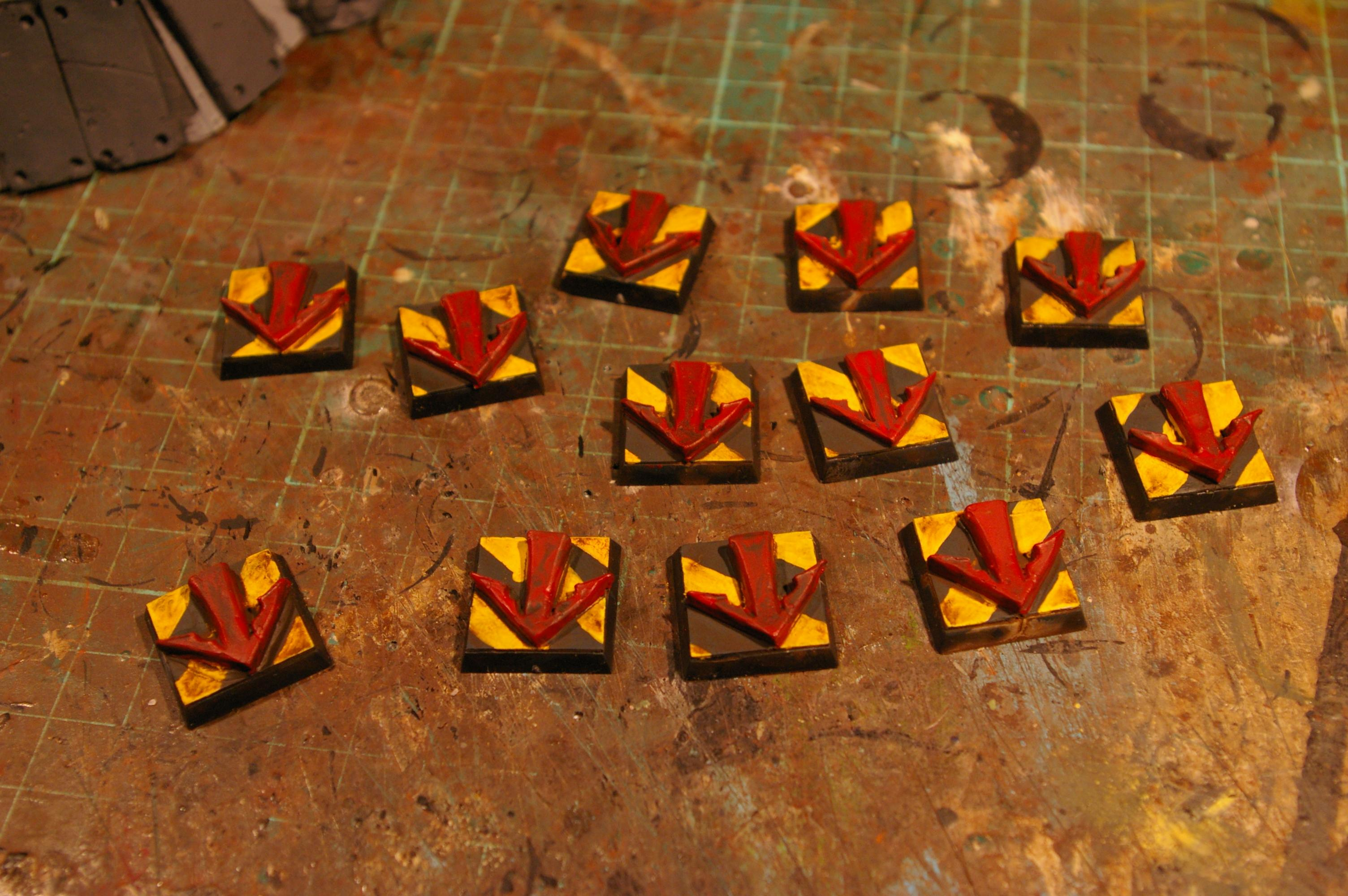 Finished AoF Markers