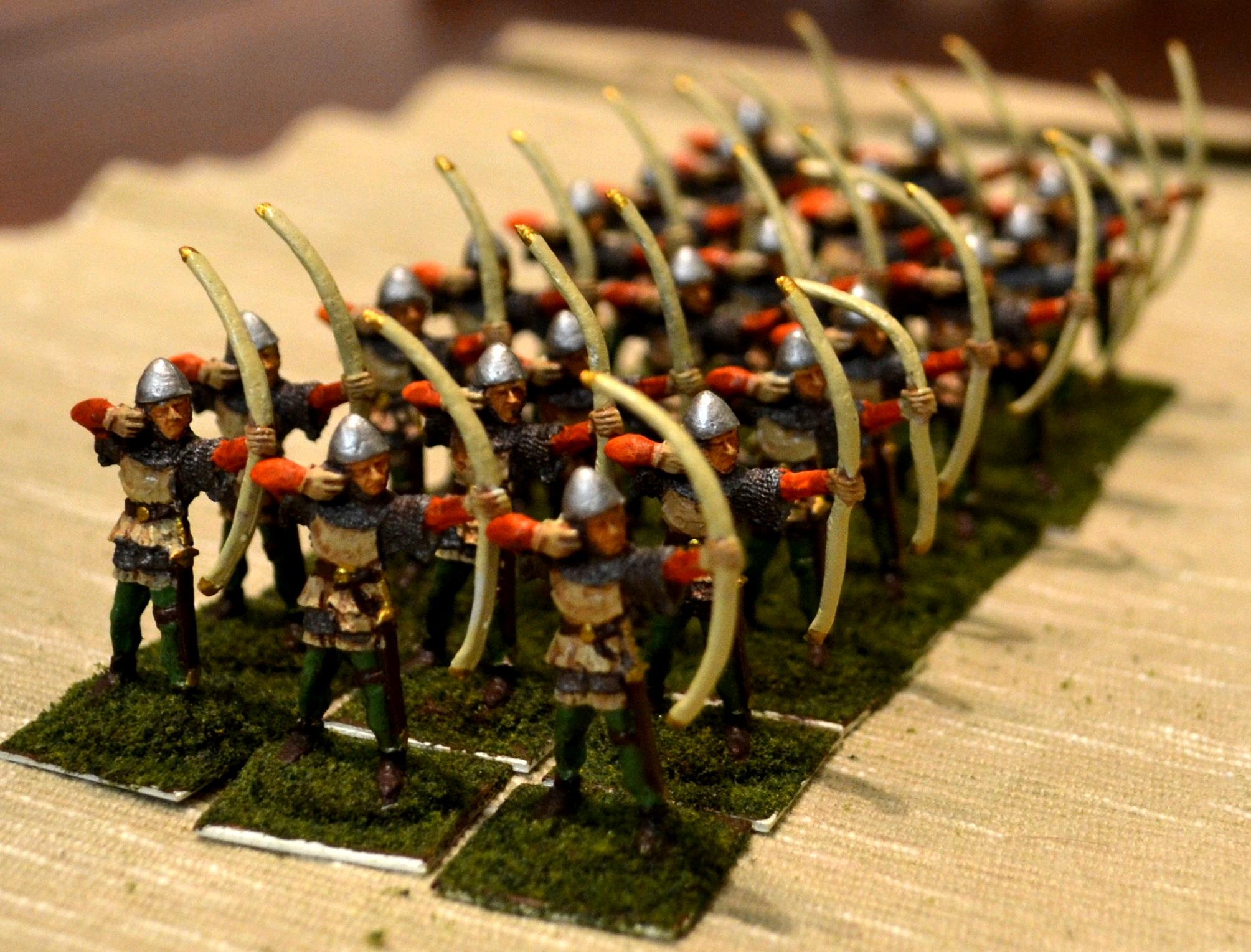 100 Years War, Bowmen, English, Wab