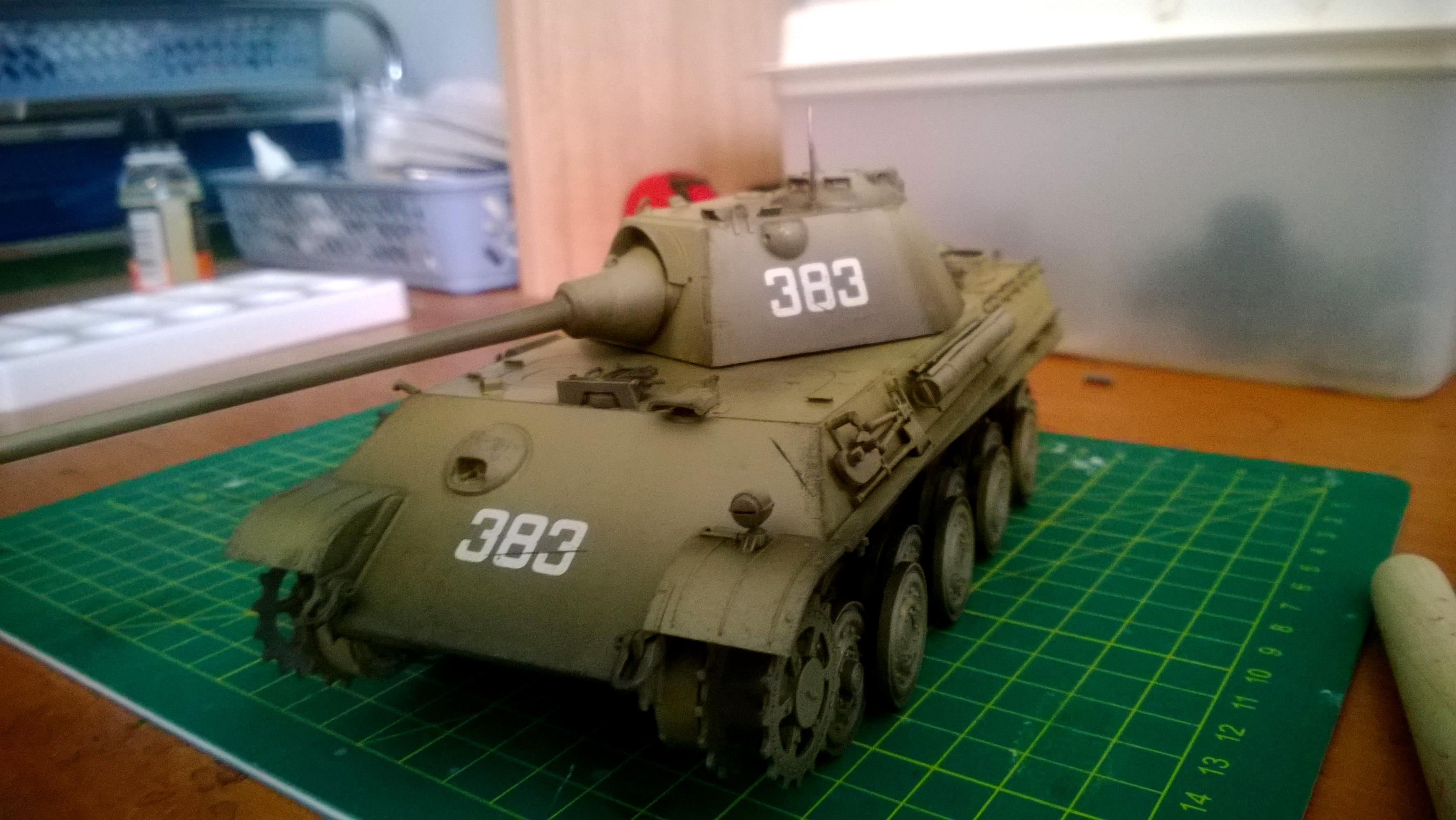 1/35, Germans, Military Modelling, Panther, Scale Modelling, Tiger