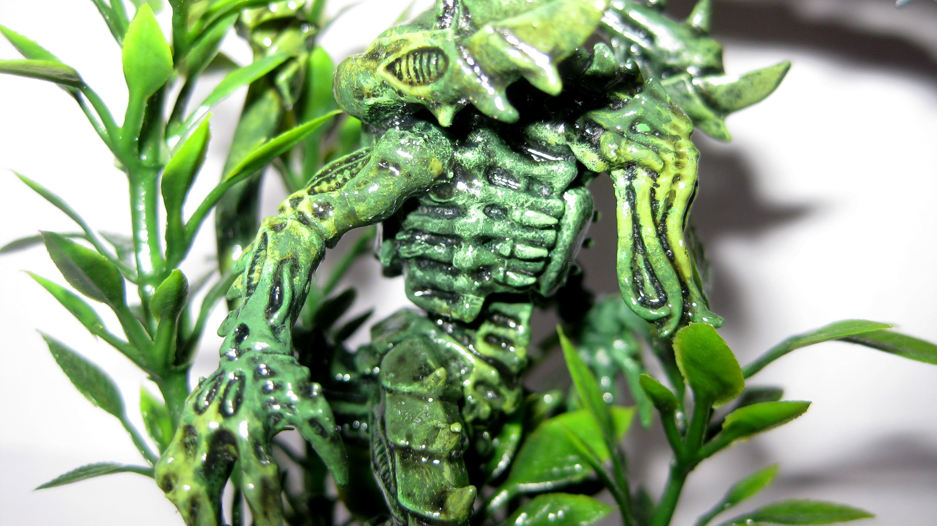 Hiding, Lictor, Plants, Tyranids