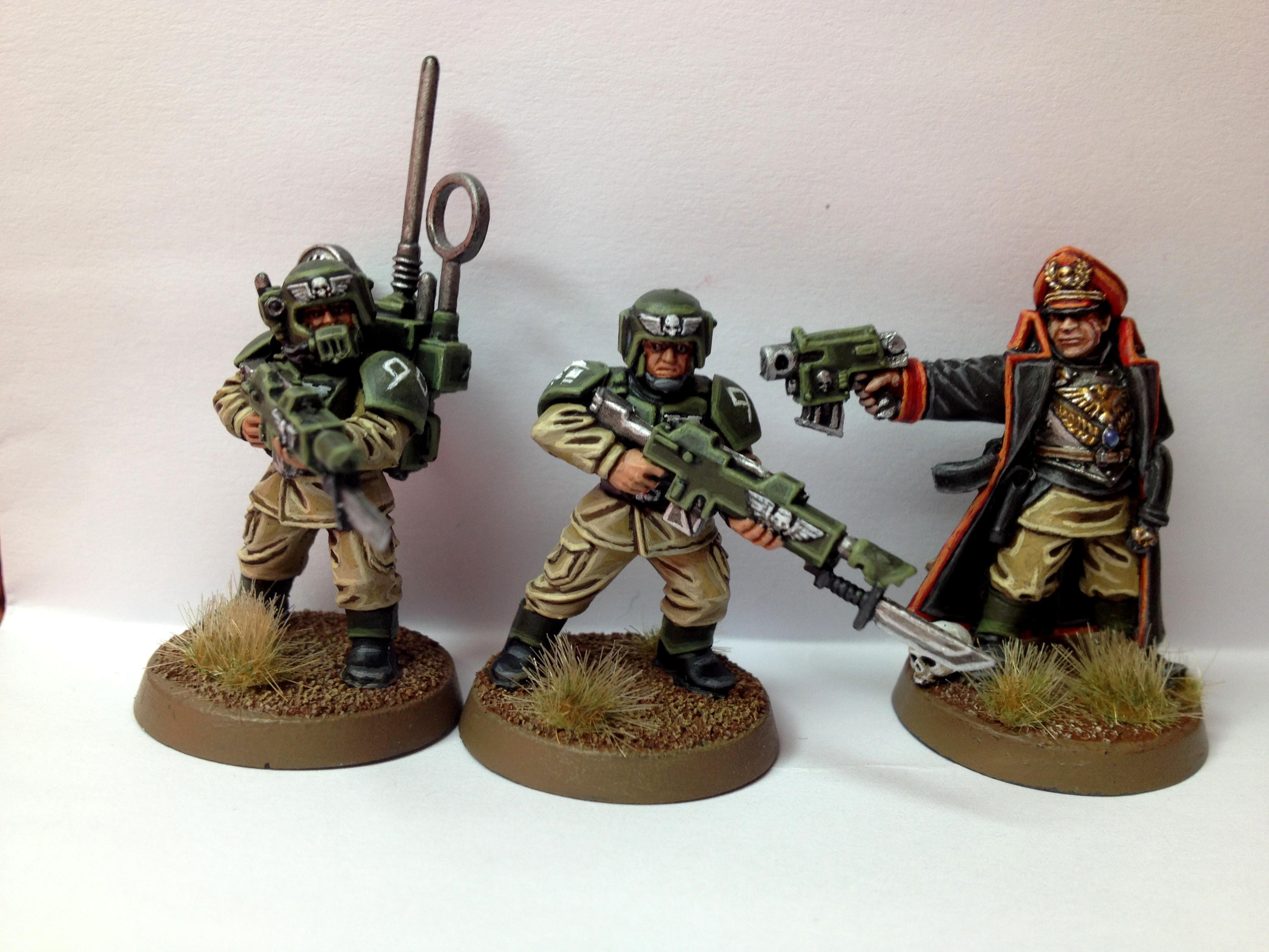 Cadians, Commissar, Guard, Warhammer 40,000