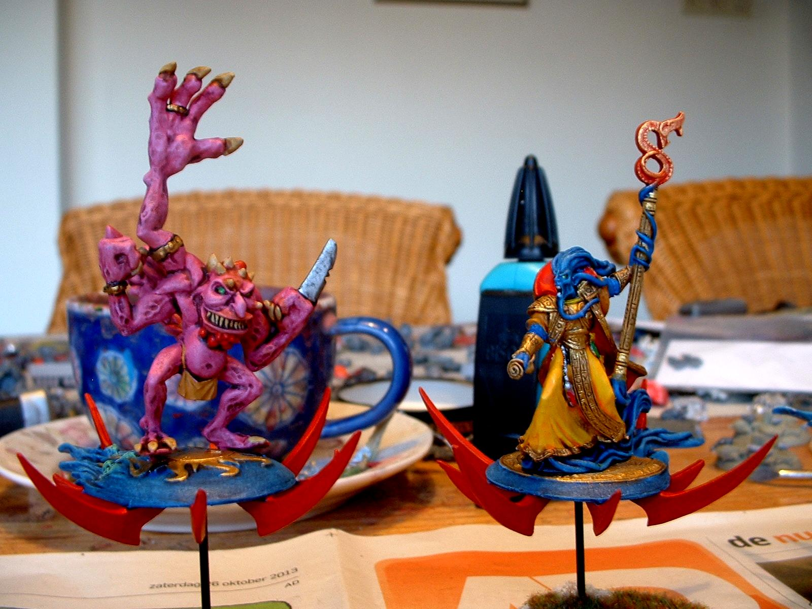Chaos, Daemons, Disc Of Tzeentch, Heralds, Tzeentch
