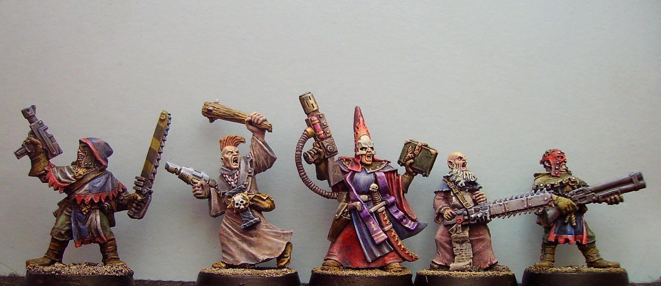 Cawdor, Necromunda, Priest, Redemptionists