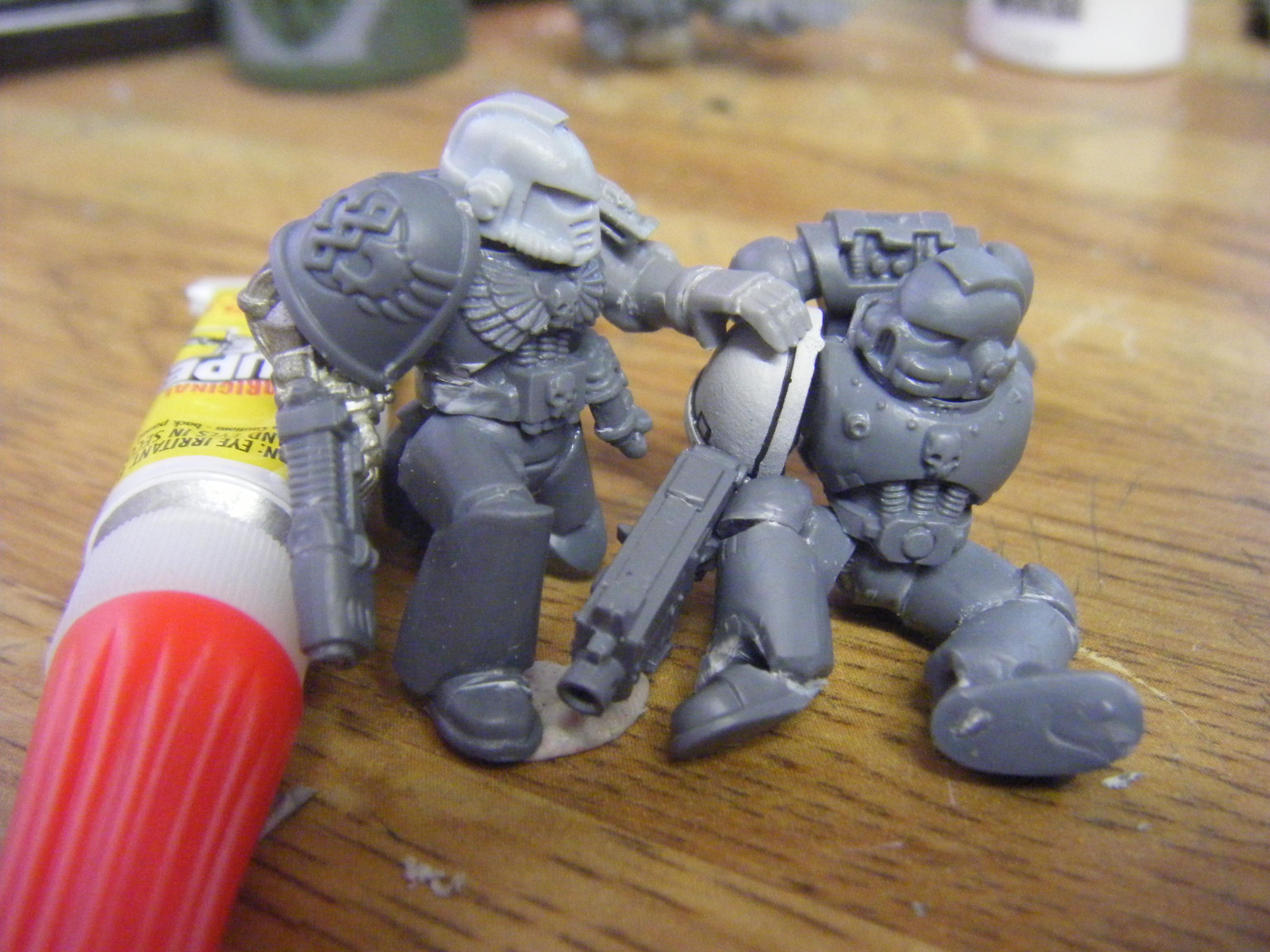 Apothicary, Diorama, Medic, Space Marines