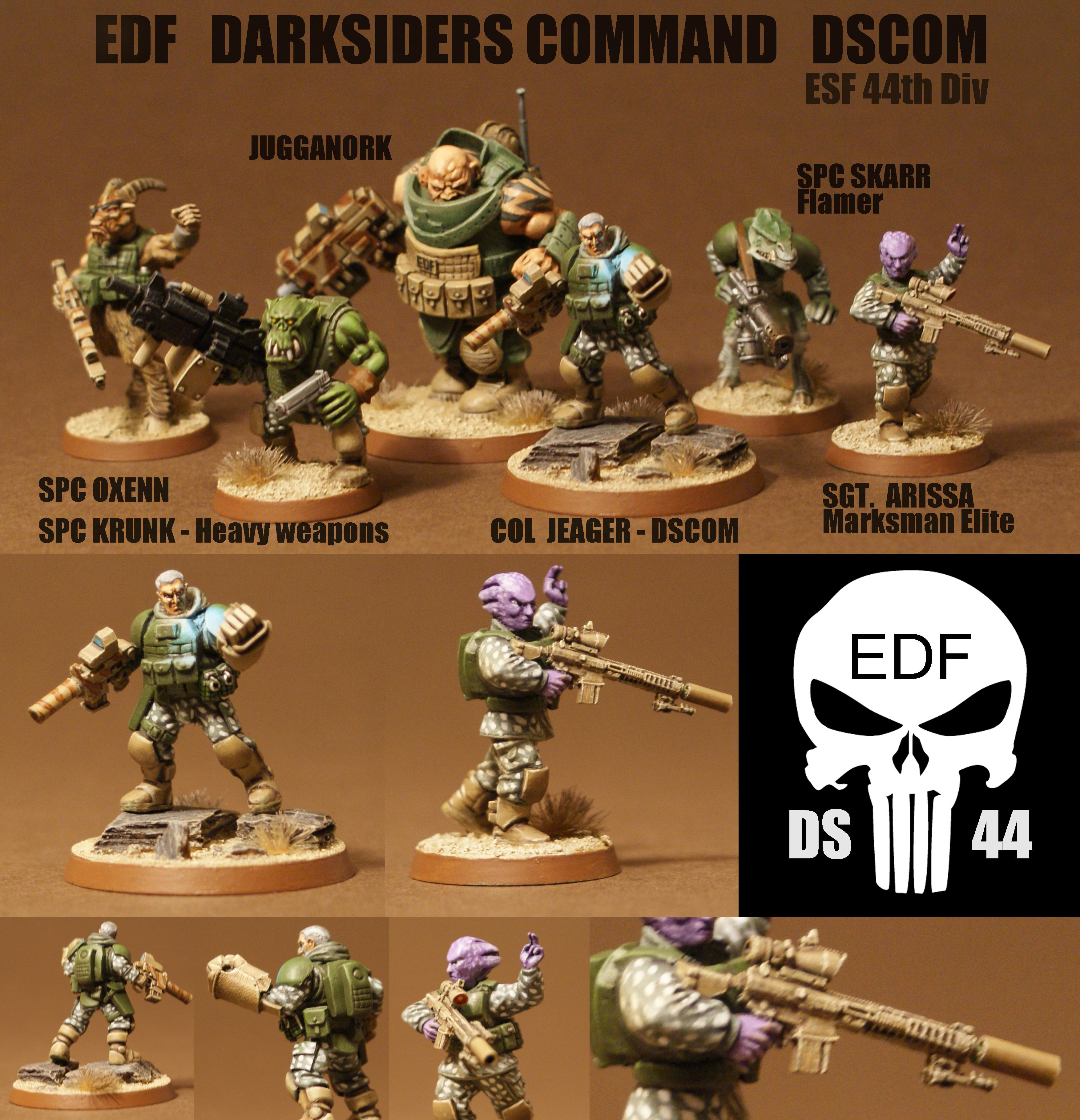 Command, Conversion, Eden Defence Force, Edf, Imperial Guard, Proxy