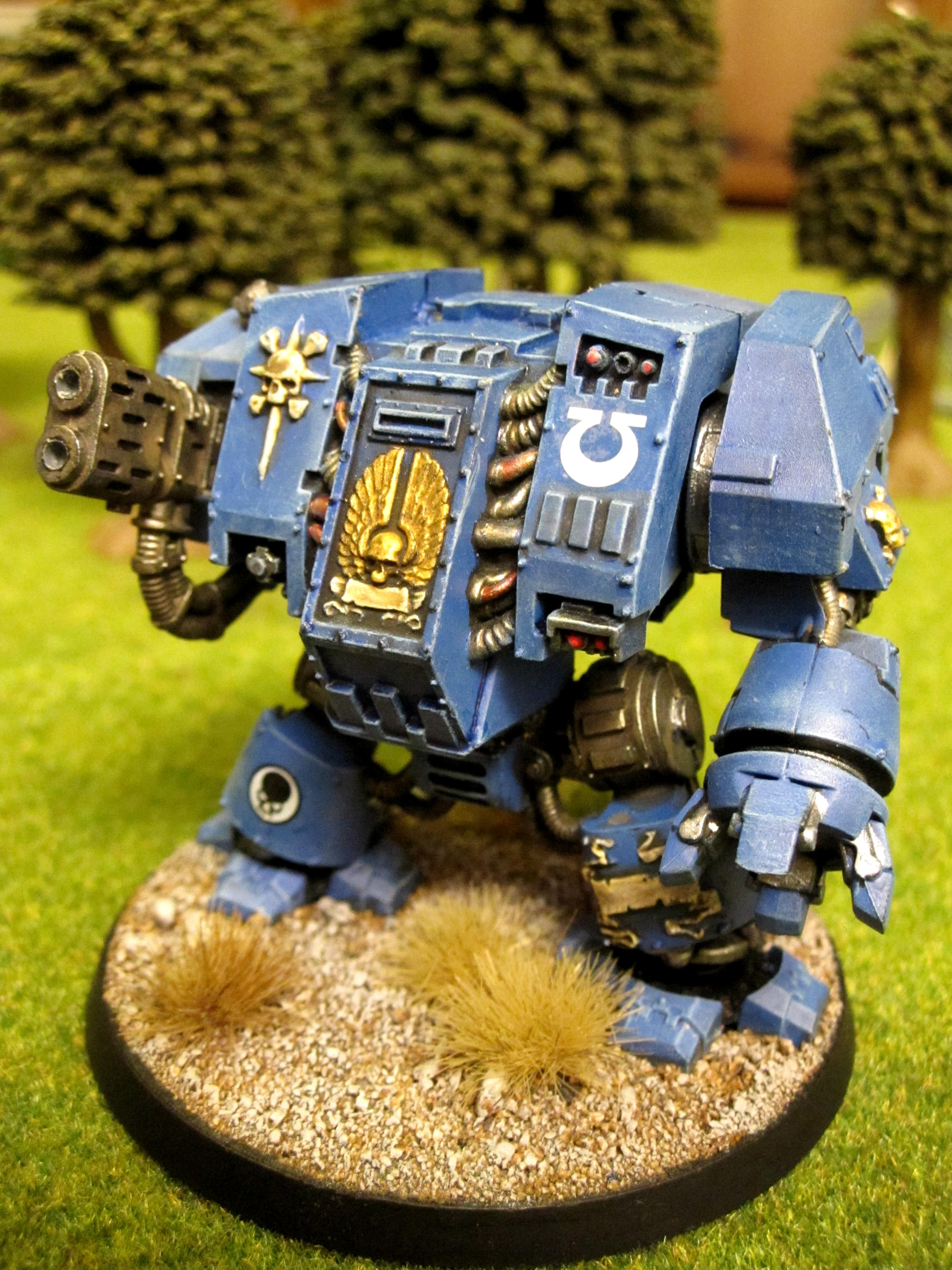 Dreadnought, Elites, Space Marines, Ultramarines, Warhammer 40,000