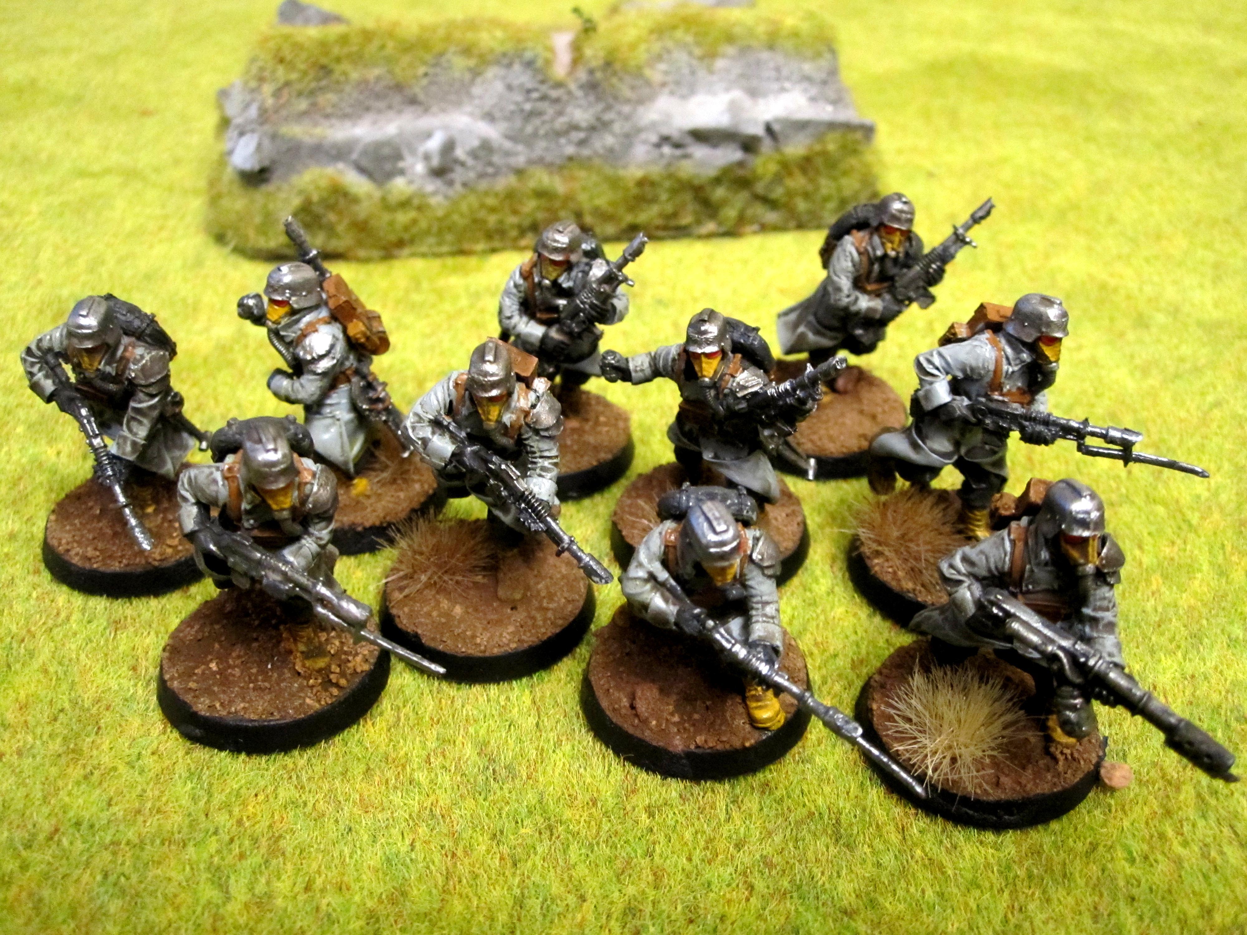 Death, Death Korps of Krieg, Forge, Infantry, Korps, Platoon, World