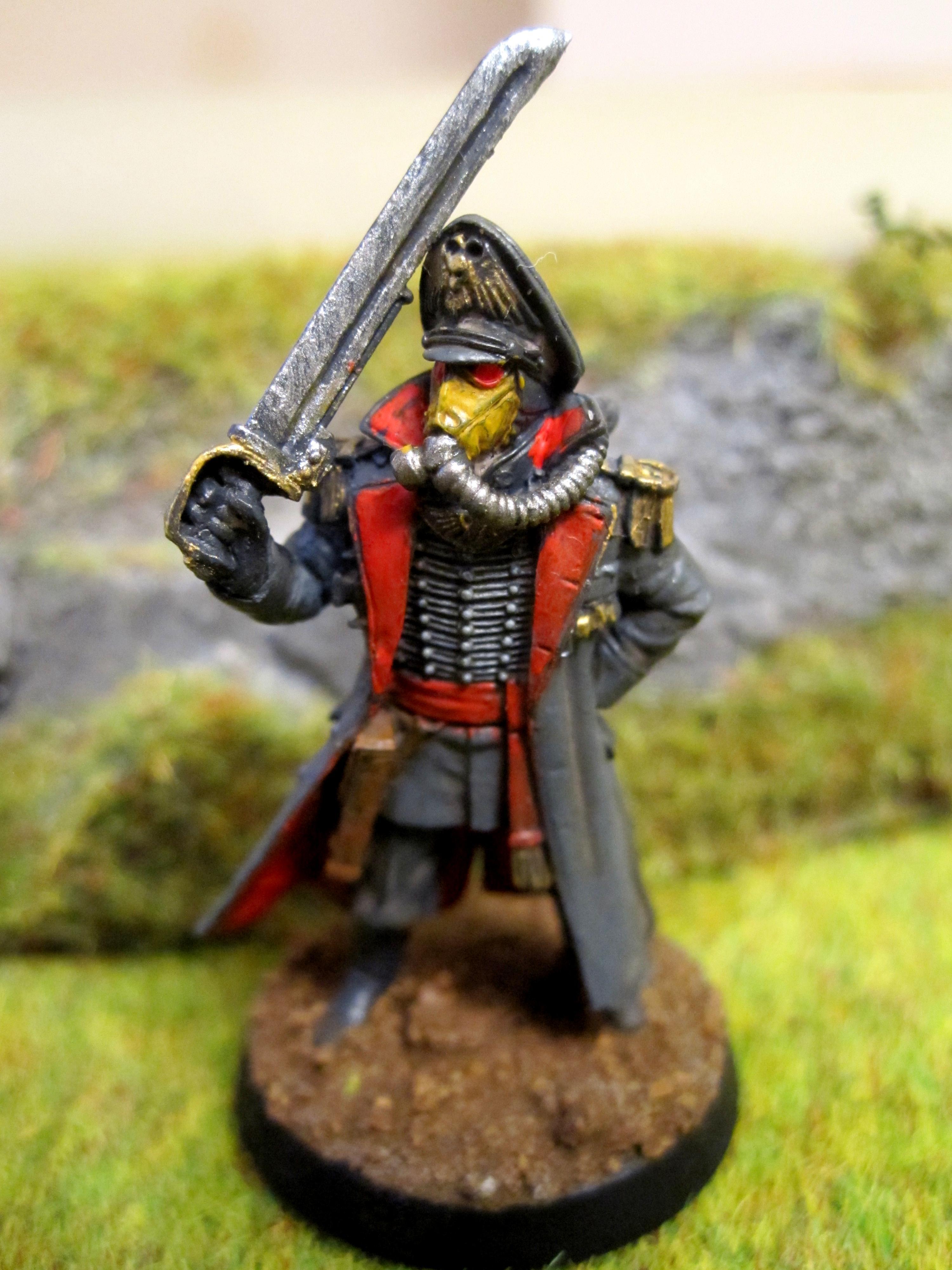 Commissar, Death, Death Korps of Krieg, Forge, Korps, Power Sword, World