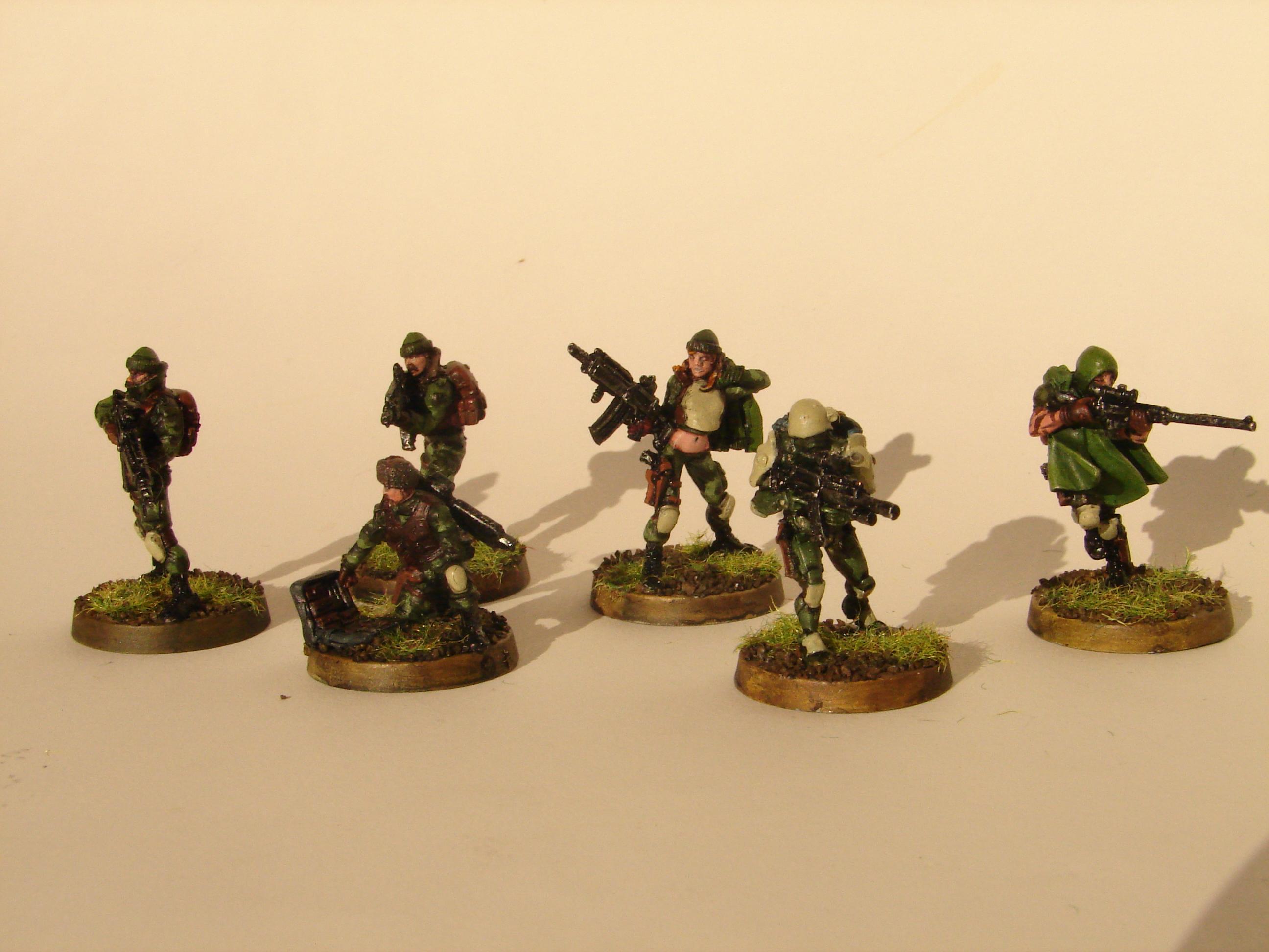 Ariadna, Infinity, Kozaks, Scouts