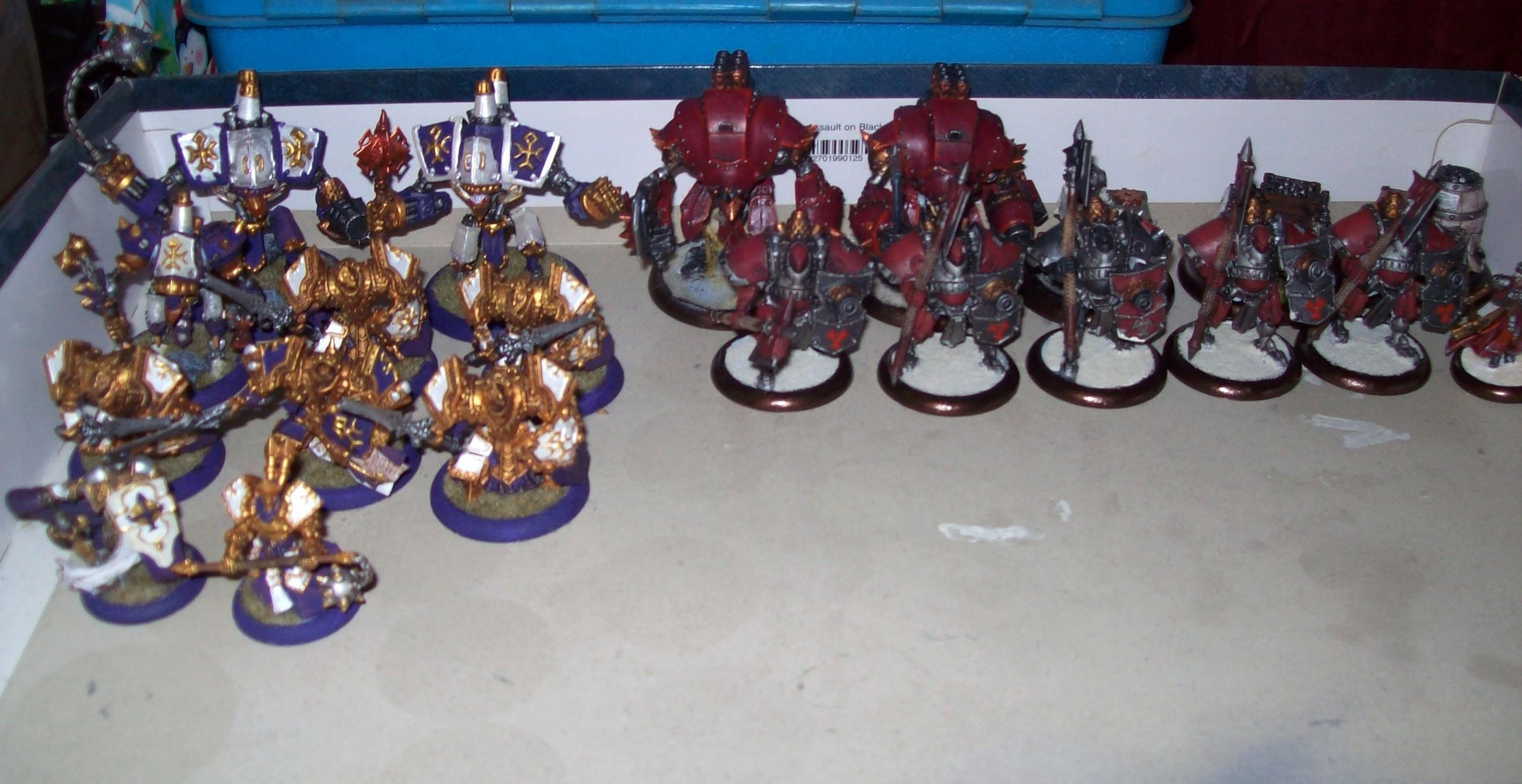 2 Player Box, Khador, Protectorate, Protectorate Of Menoth, Starter, Warmachine
