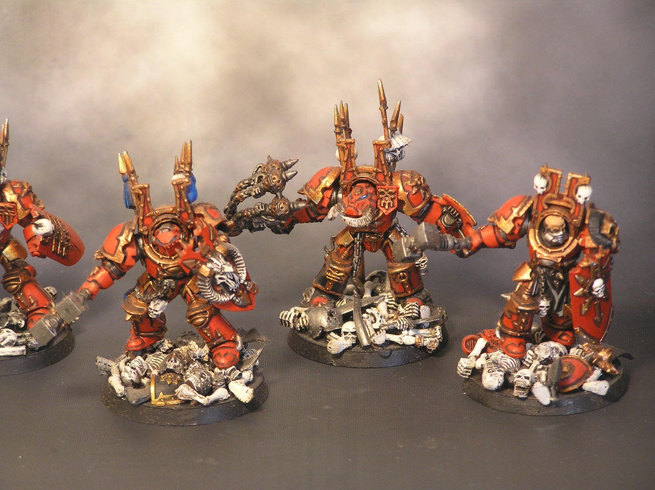 Chaos Space Marines, Khorne, Terminator Armor