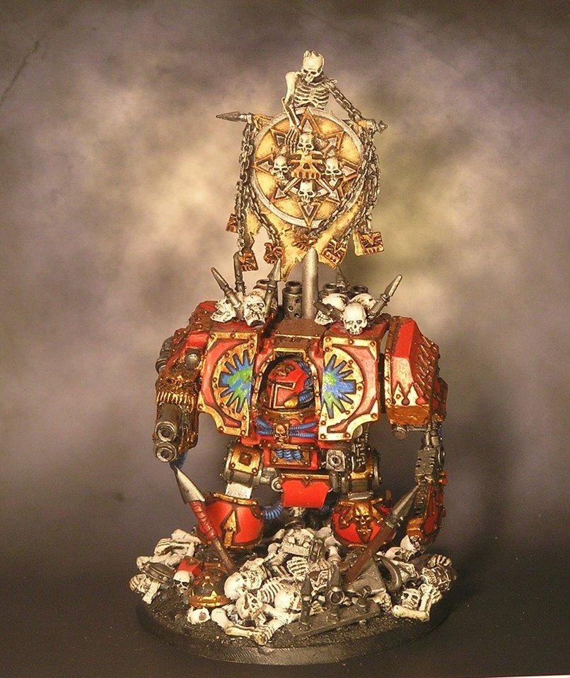 Chaos Dreadnought, Chaos Space Marines, Dreadnought, Helbrute, Khorne, Warhammer 40,000, World Eaters