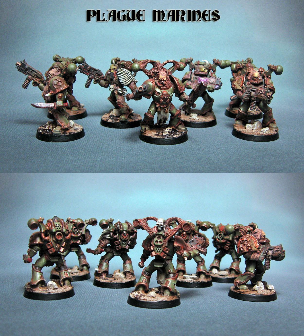 Nurgel, Plague Marines, Warhammer 40,000