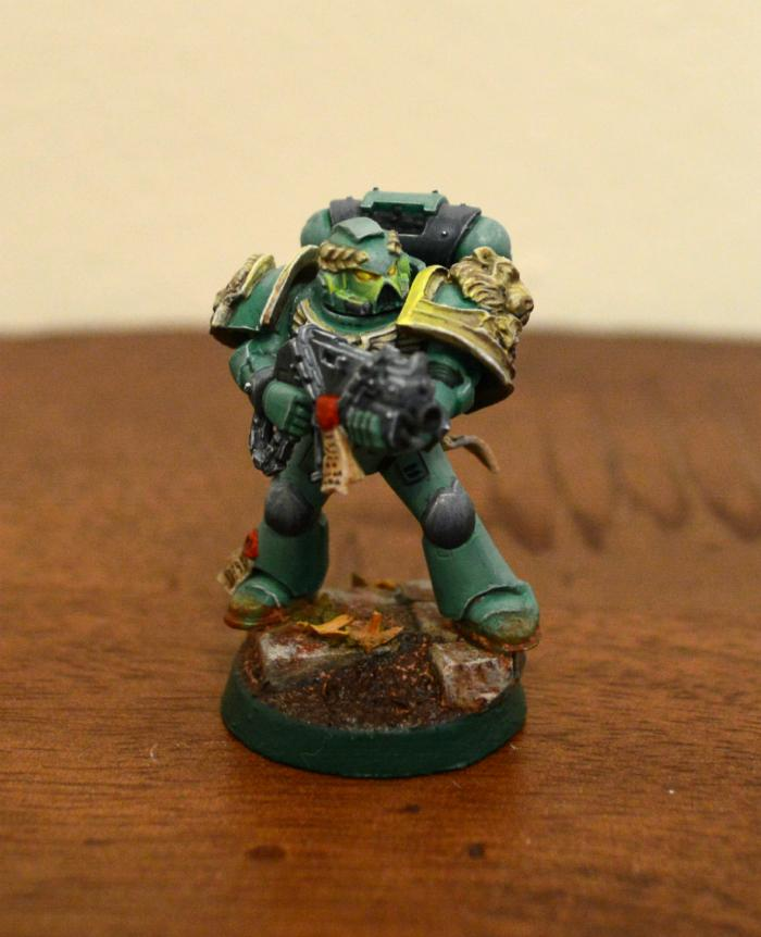 Green, Lion, Space Marines