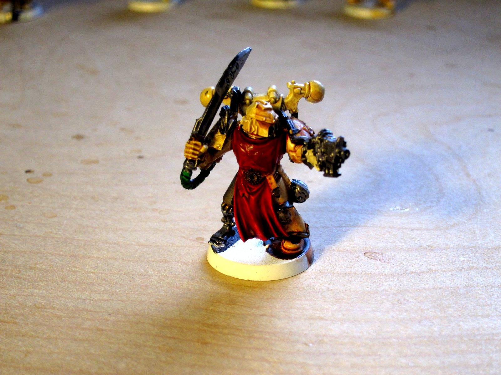 Bionics, Conversion, Iron Hands, Renegade Marines