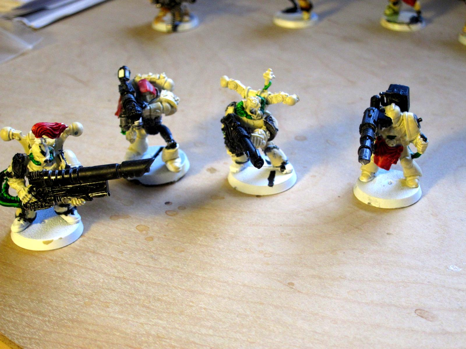 Bionics, Conversion, Iron Hands, Renegade Marines