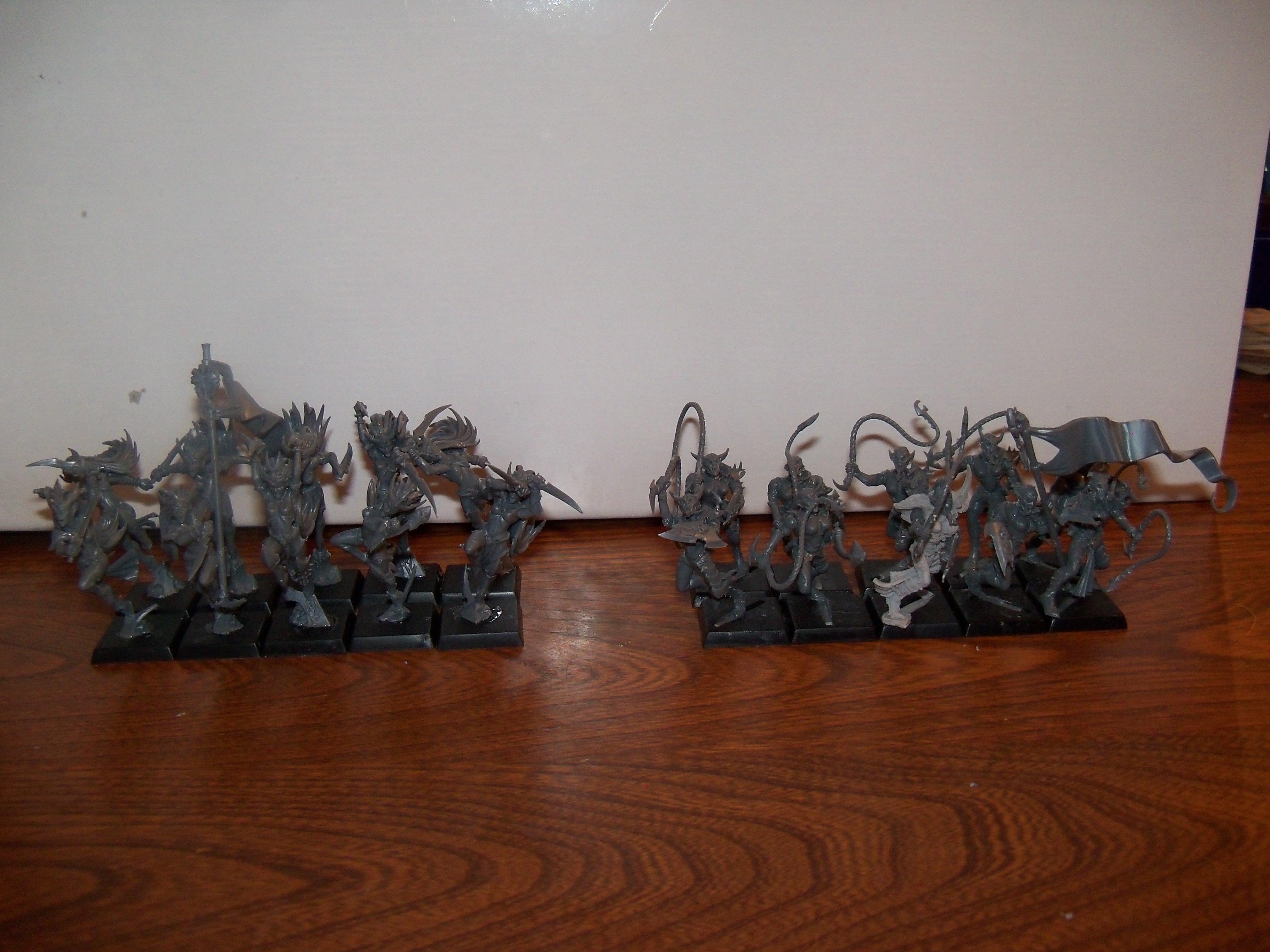 Dark Elves, WIP - new Dark Elves