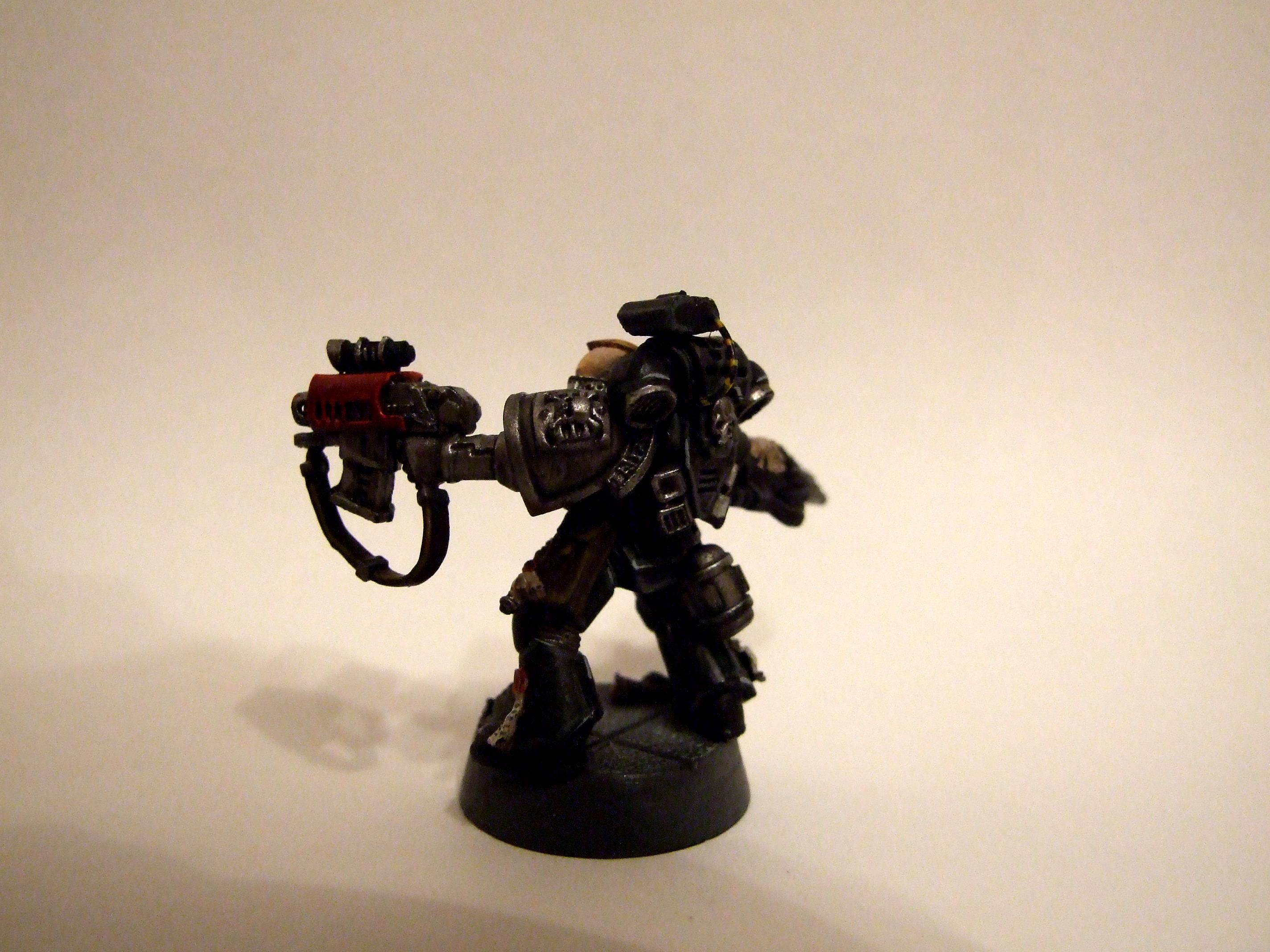 40k Imperial, Deathwatch, Kill Team, Lightening Claw, Ordus Xenos, Sergeant, Space Marines, Storm Bolter, Veteran