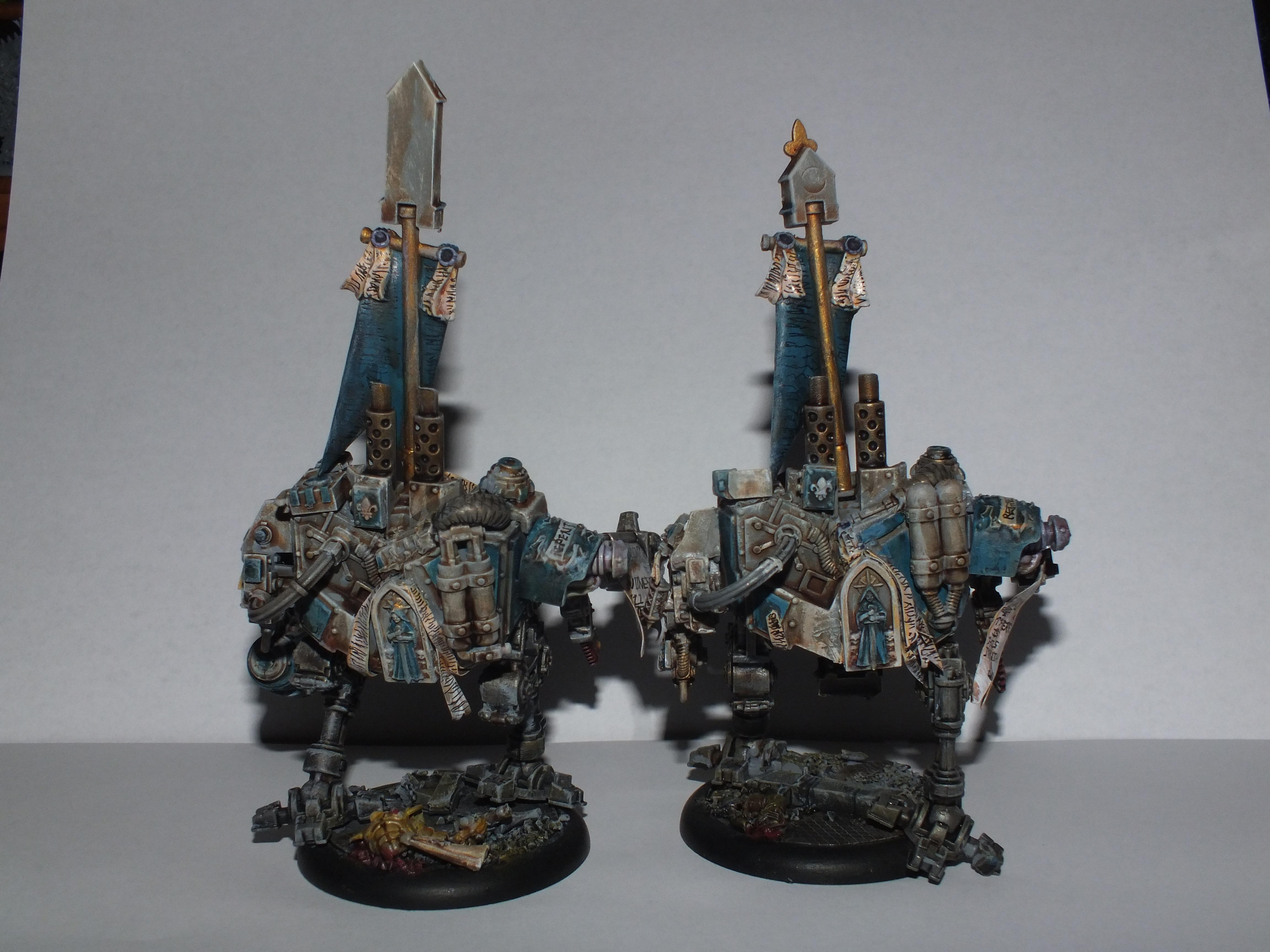 Sisters Of Battle, Penitent Engines rear