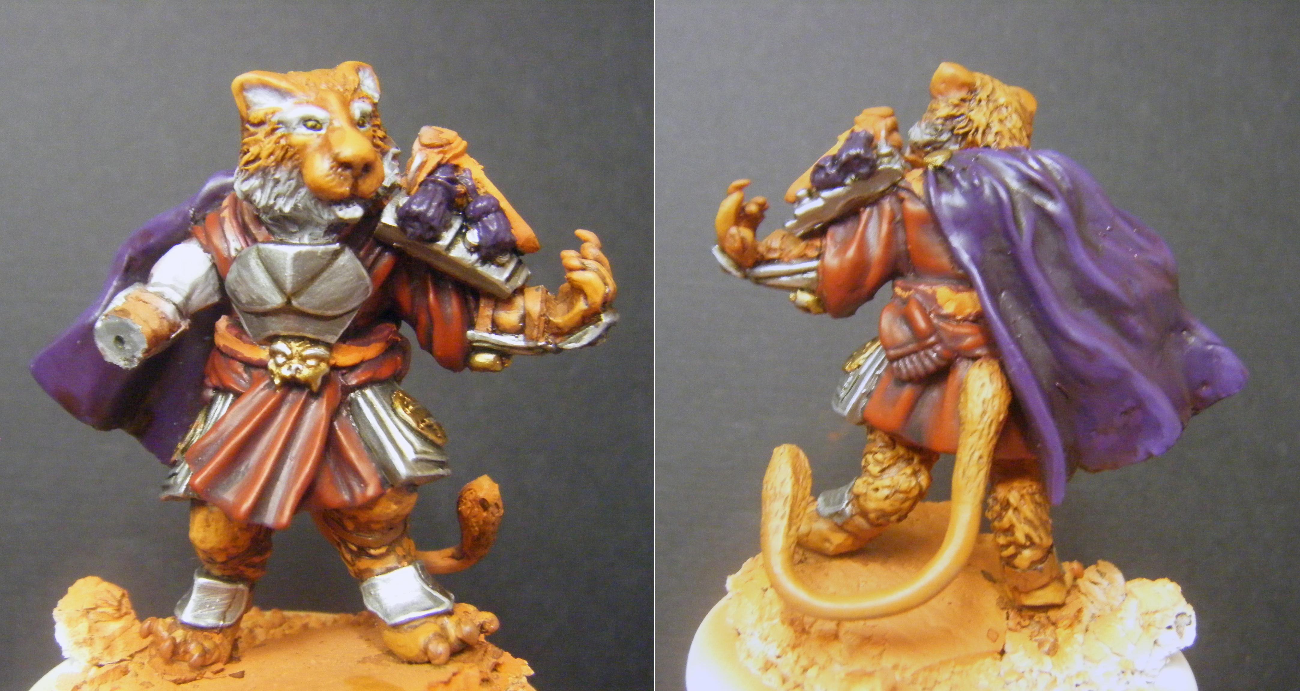 Beast Man, Lion