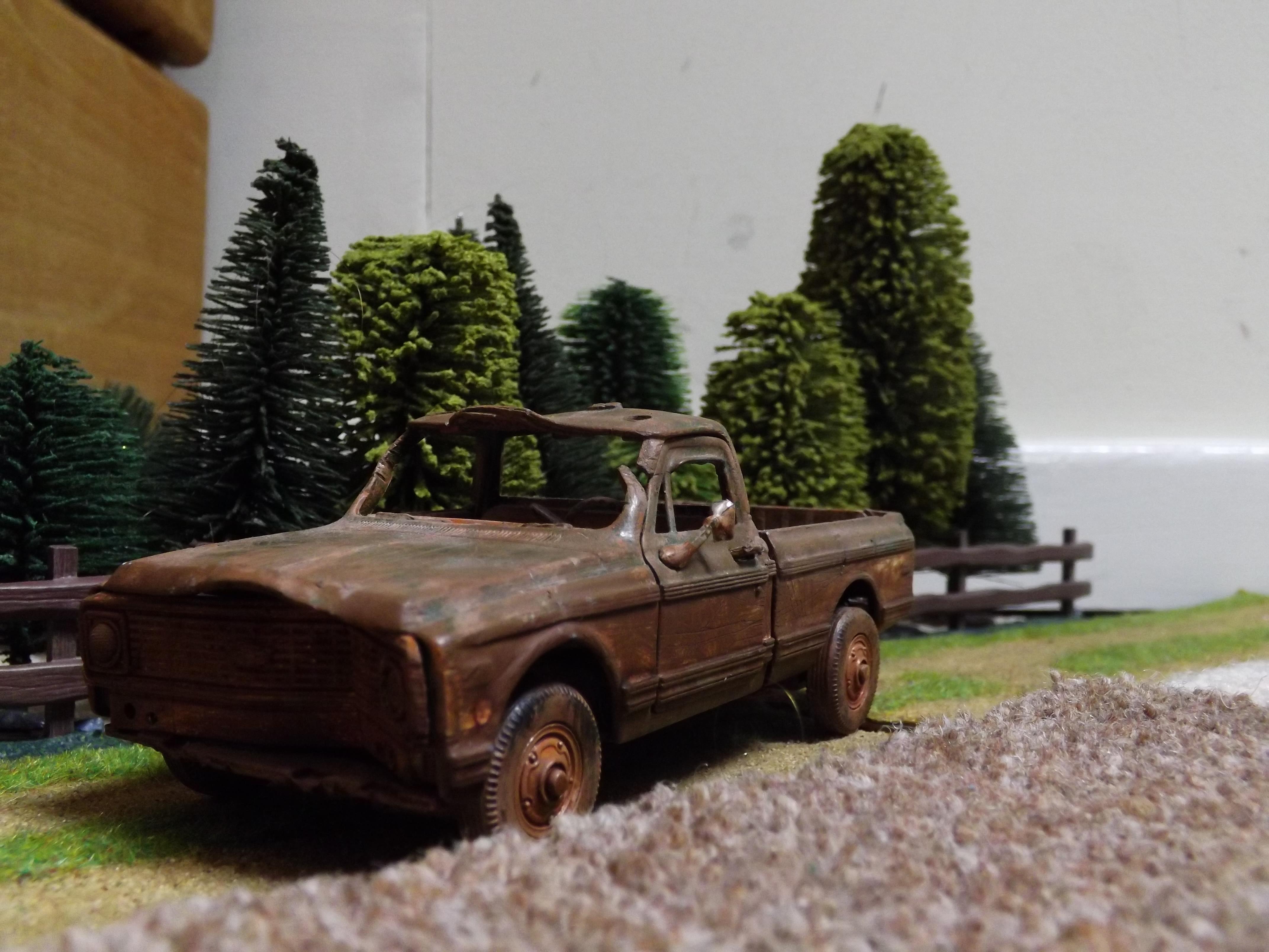 Fire Engine, Lorry, Post Apocalypse, Truck, Vehicle