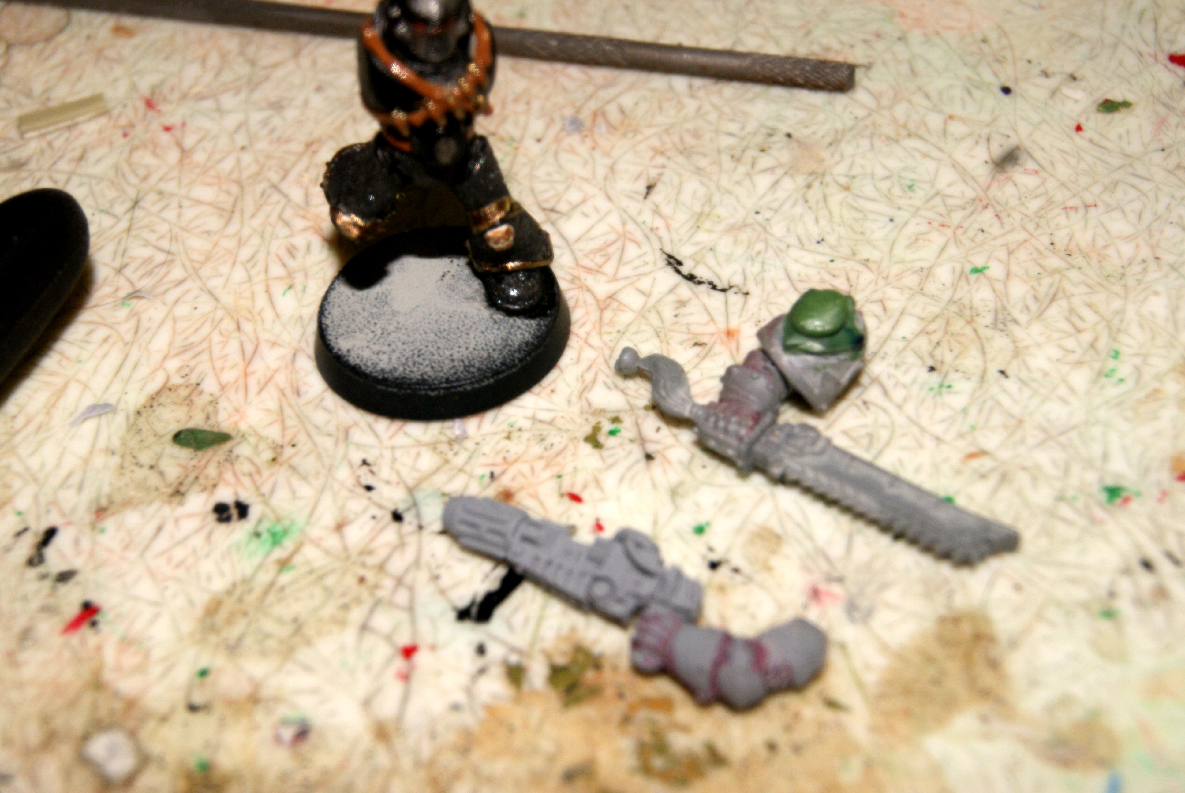 Troop arms chosen