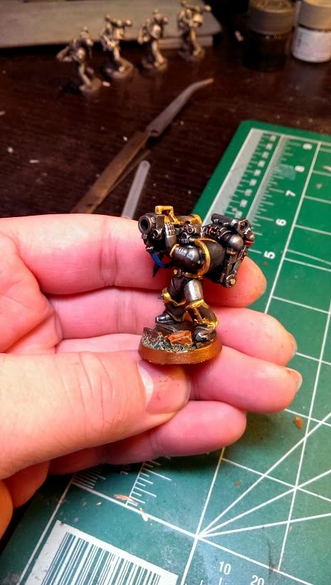 Chaos Space Marines, Havoc, Iron Warriors, Missile Launcher
