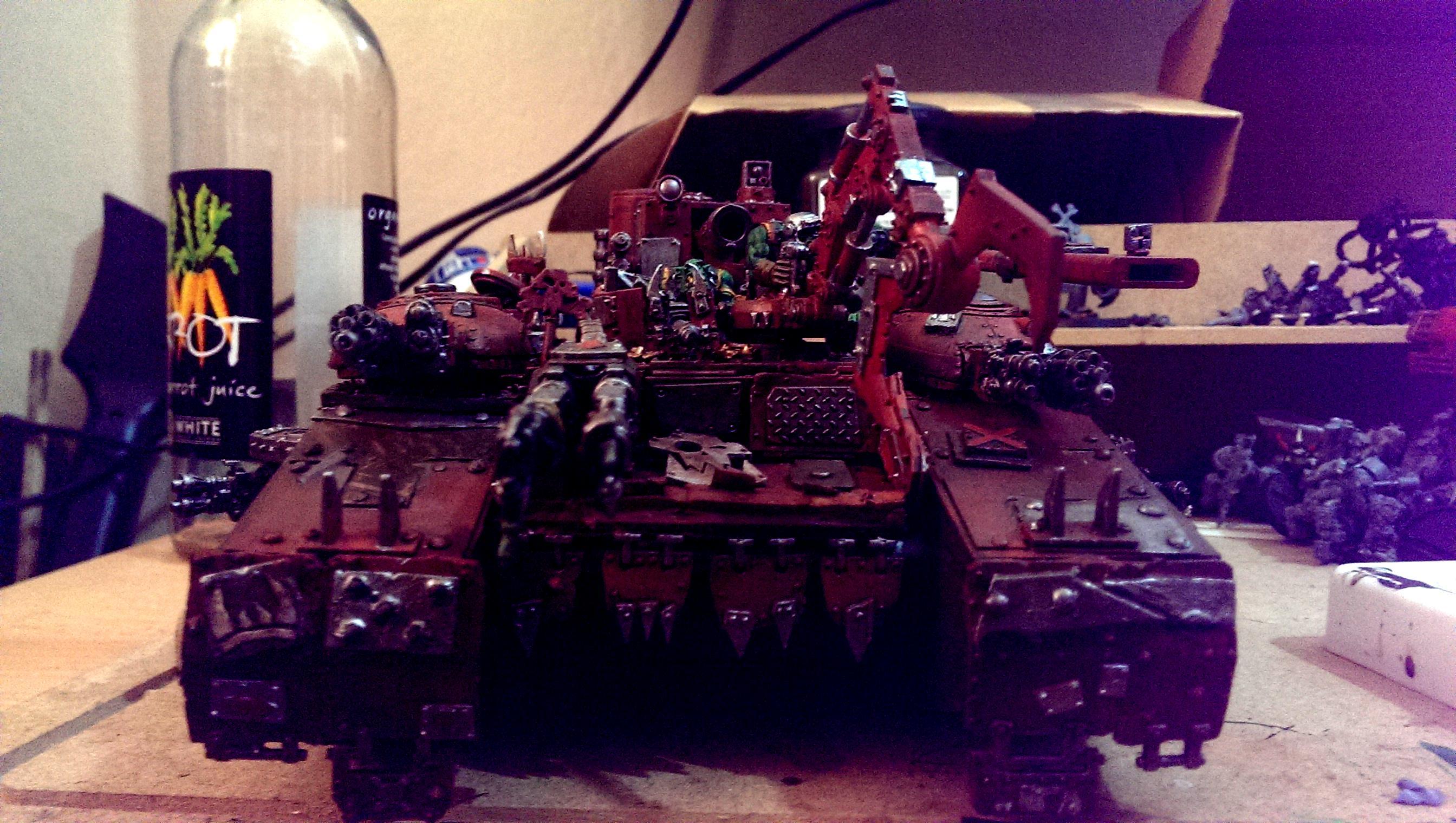Baneblade, Conversion, Orks, Super-heavy, Tank, Warhammer 40,000