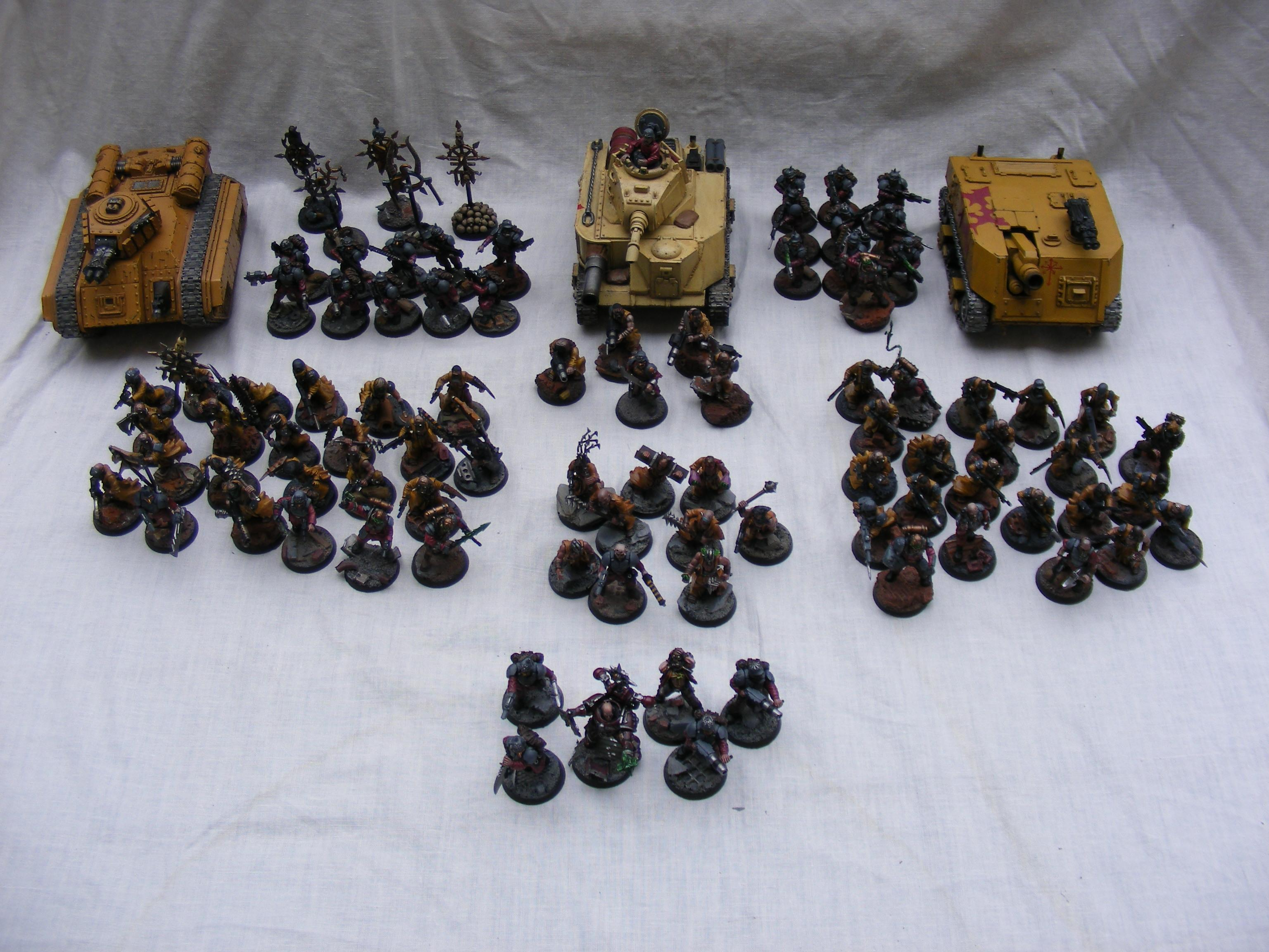 Chaos, Cultists, Imperial Guard, Lost And The Damned, Renegade, Renegades, Traitor, Warhammer 40,000