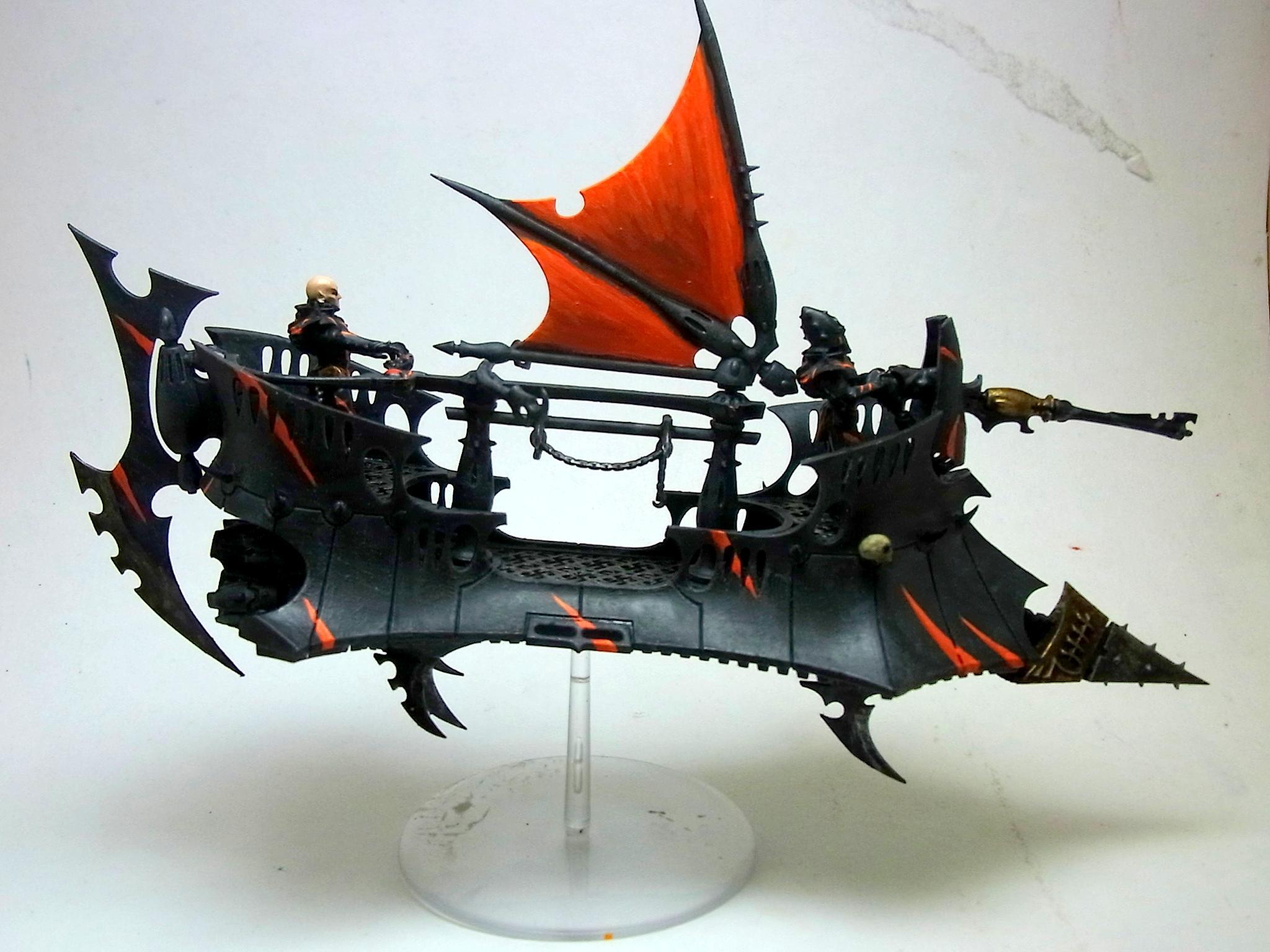 Dark Eldar, Raider, Raider Starboard Side
