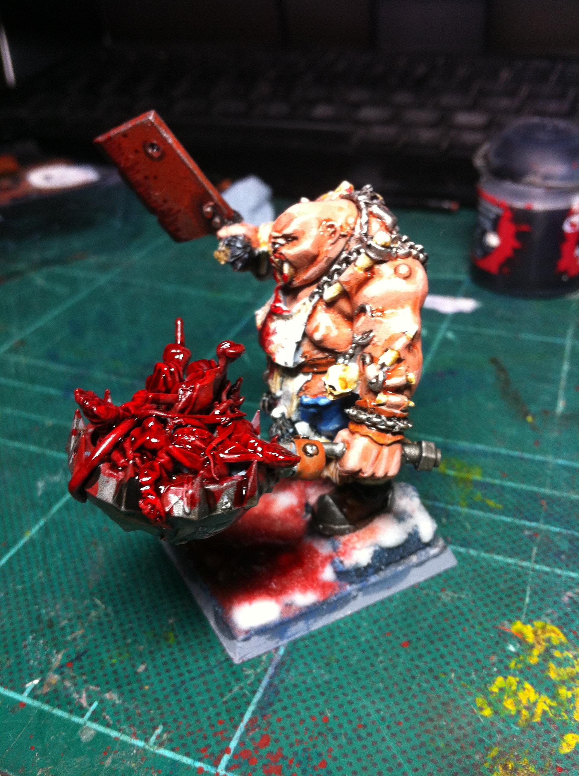 Blood, Butcher, Conversion, Gore, Ogre Kingdoms, Ogres, Slaughtermaster, Snow